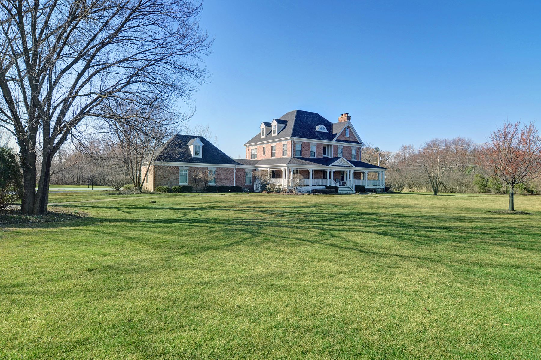 Single Family Home for Sale at Five Acre Breathtaking Retreat 11955 German Church Road Burr Ridge, Illinois 60527 United States