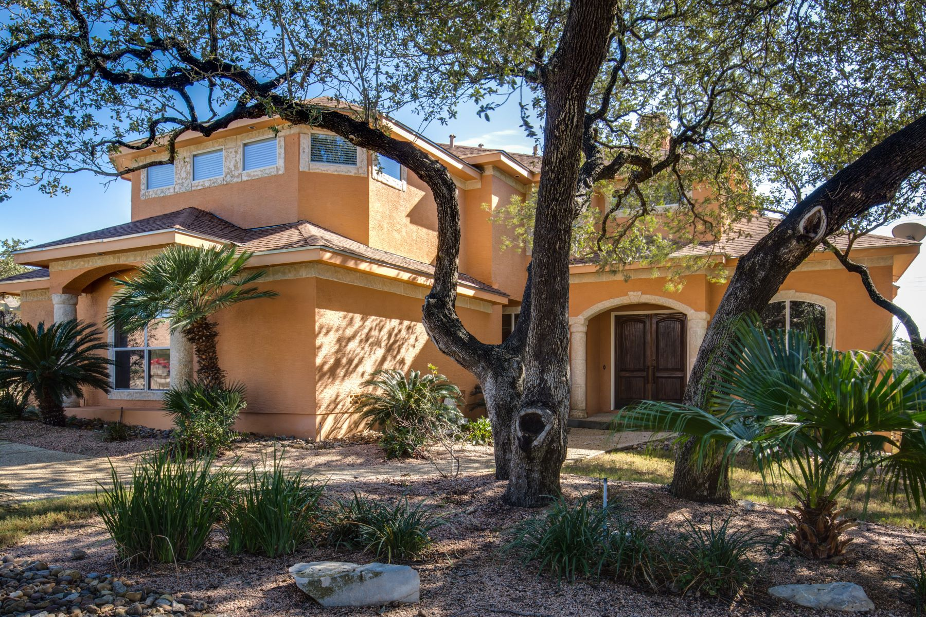 Single Family Home for Sale at Expansive Escape in the Village at Cactus Bluff 1718 Cactus Bluff San Antonio, Texas 78258 United States
