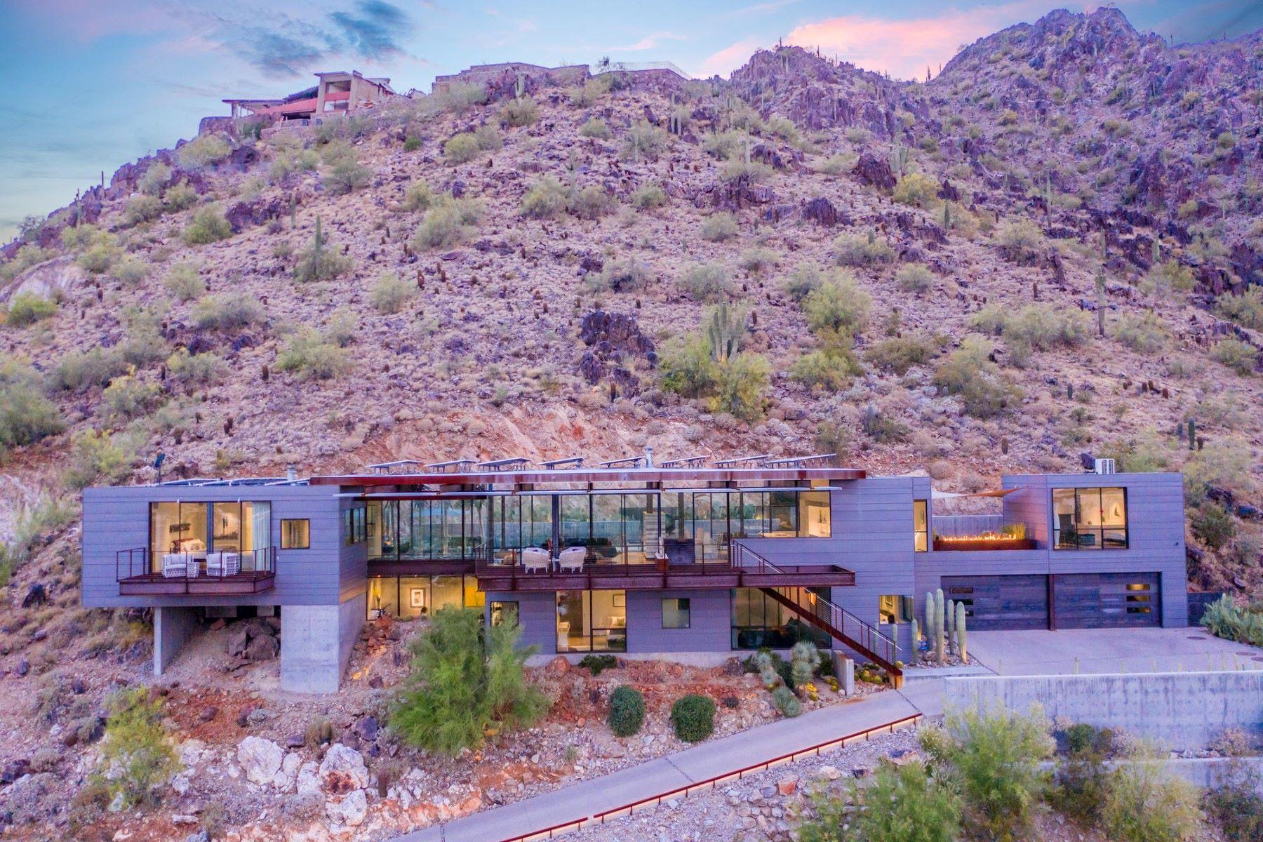 Single Family Homes por un Venta en Clearwater Hills 7334 N CLEARWATER PKWY Paradise Valley, Arizona 85253 Estados Unidos