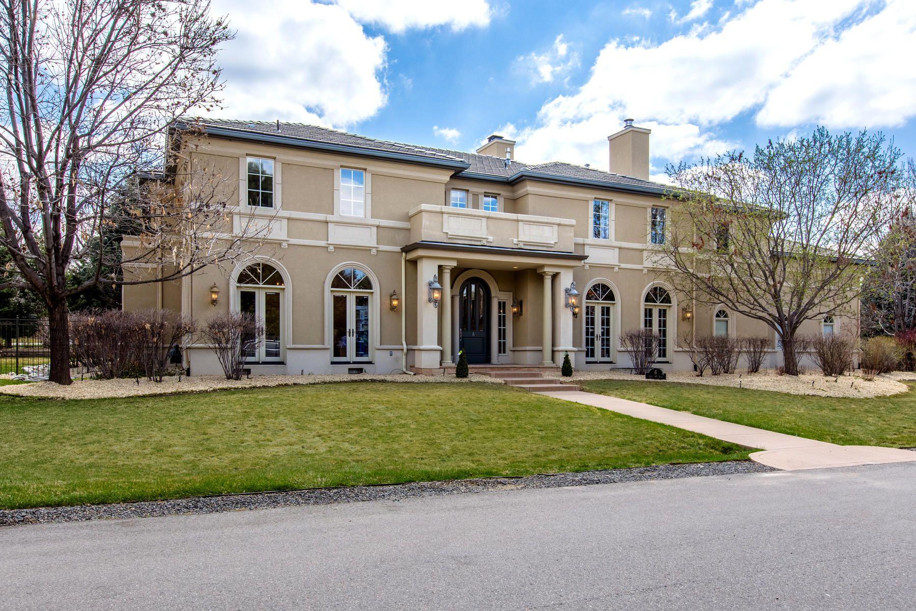 Single Family Homes для того Продажа на 6 Gray Owl Road, Cherry Hills Village, Co, 80113 Cherry Hills Village, Колорадо 80113 Соединенные Штаты
