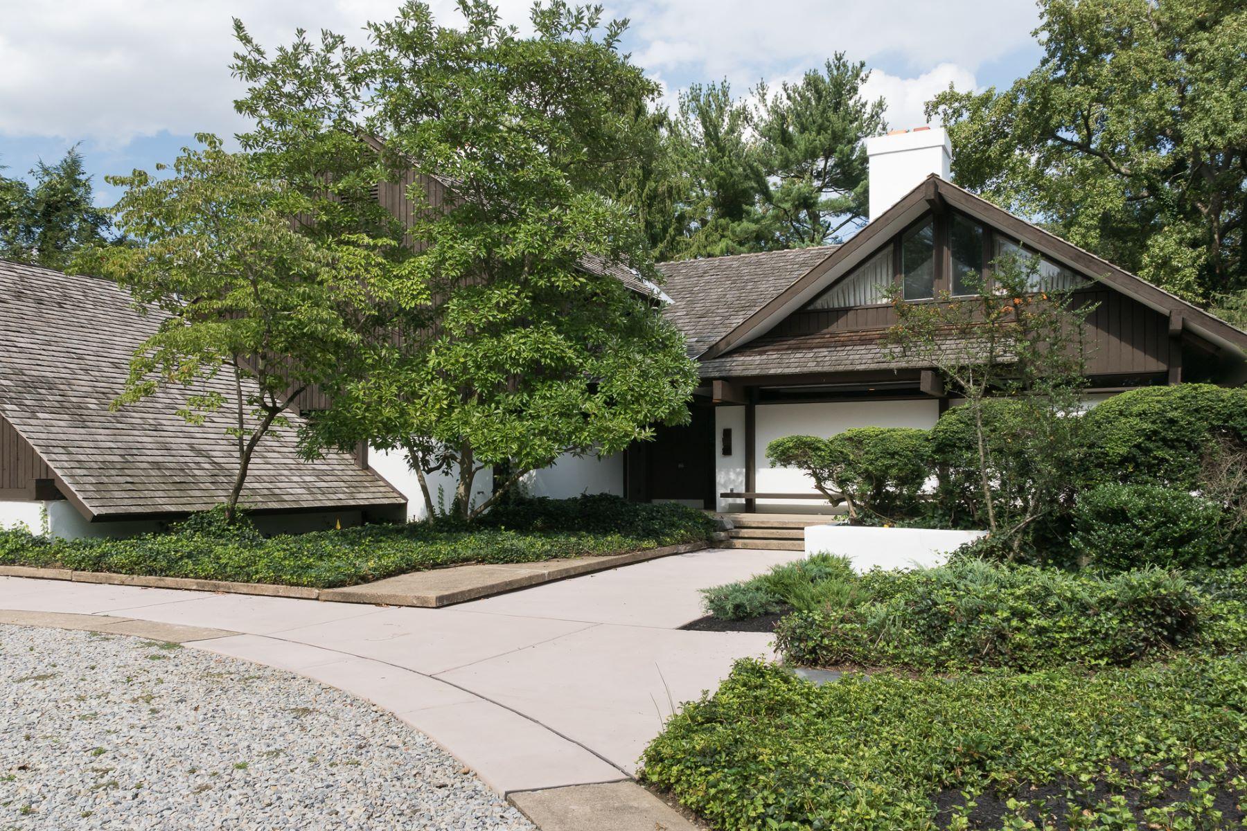 Single Family Homes för Försäljning vid Mid-Century Modern Designed by Malcolm Wells 845 Golf View Road, Moorestown, New Jersey 08057 Förenta staterna
