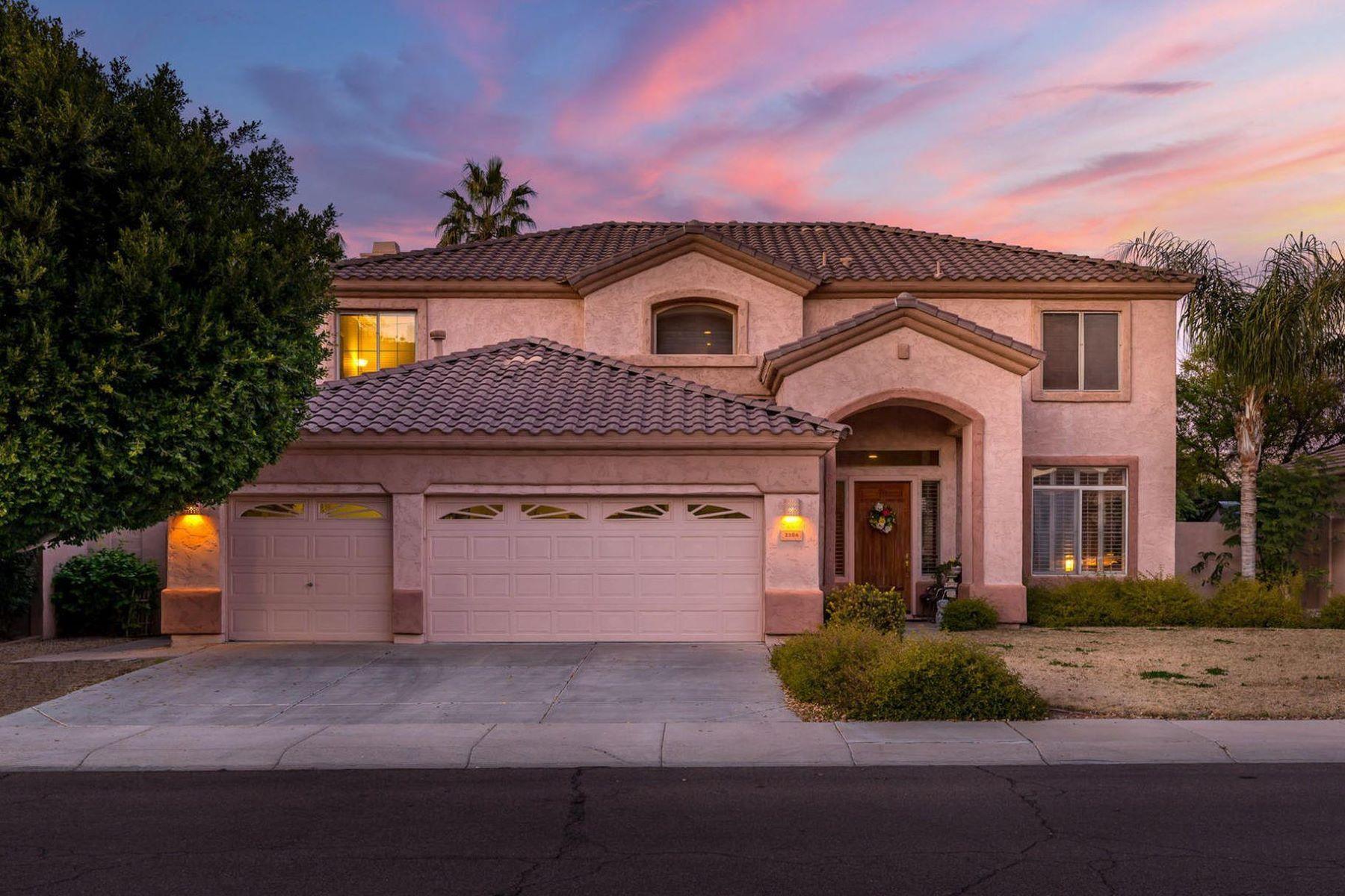 Single Family Homes por un Venta en Dobson Place 2286 East Oakland Street Chandler, Arizona 85225 Estados Unidos