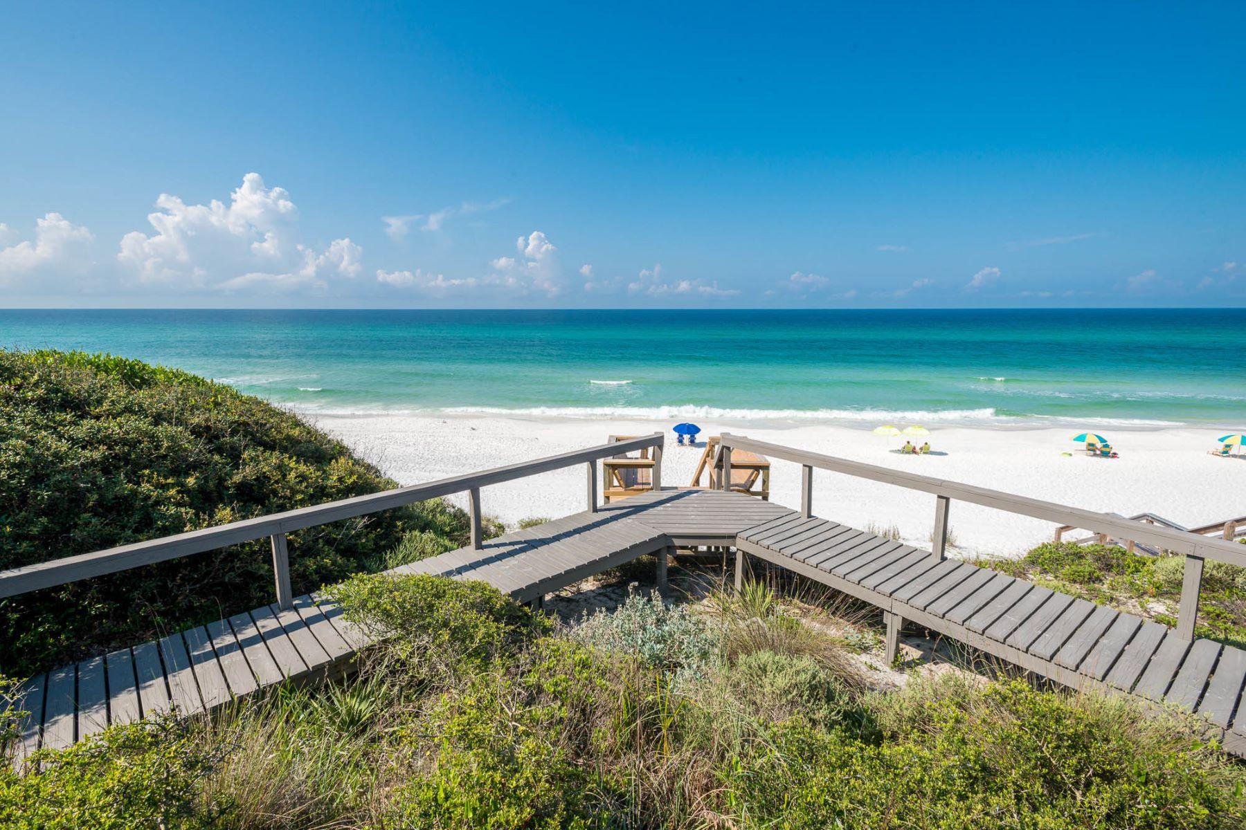 Single Family Homes für Verkauf beim Private Gulf-front Oasis Boasting 90 Feet of Beachfront 8016 East County Highway 30A, Seacrest, Florida 32461 Vereinigte Staaten