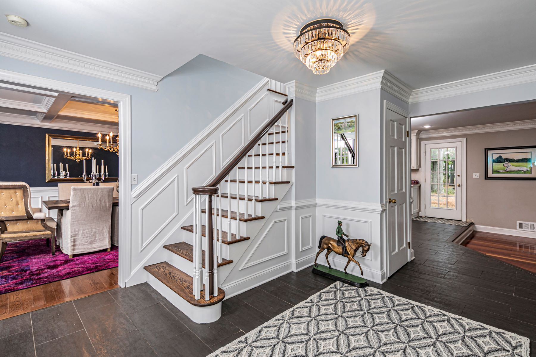 Additional photo for property listing at Upgrades Galore In This Stone Front Colonial 2 Flintlock Road, Flemington, New Jersey 08822 United States