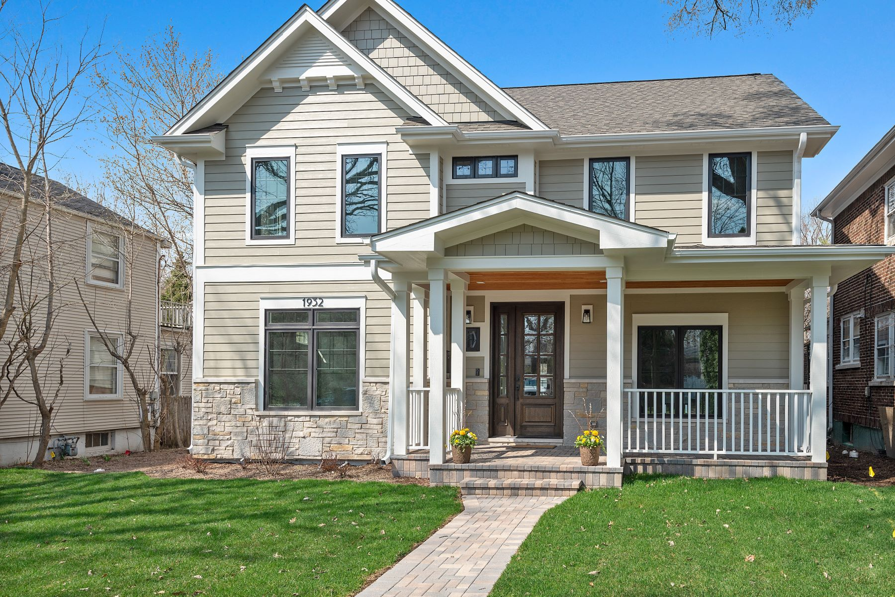 Single Family Home for Active at Luxury Wilmette New Construction 1932 Birchwood Avenue Wilmette, Illinois 60091 United States