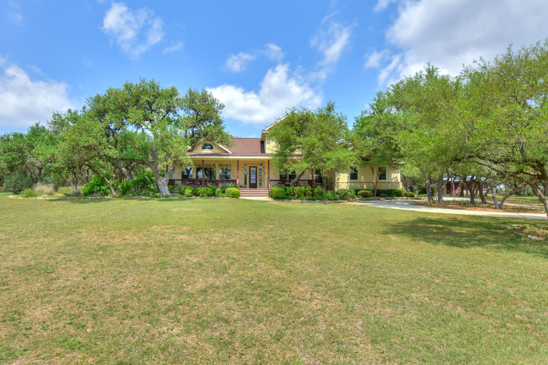 Single Family Home for Sale at Beautiful Home on Acreage in the Hill Country 6 Comanche Trail Boerne, Texas 78006 United States