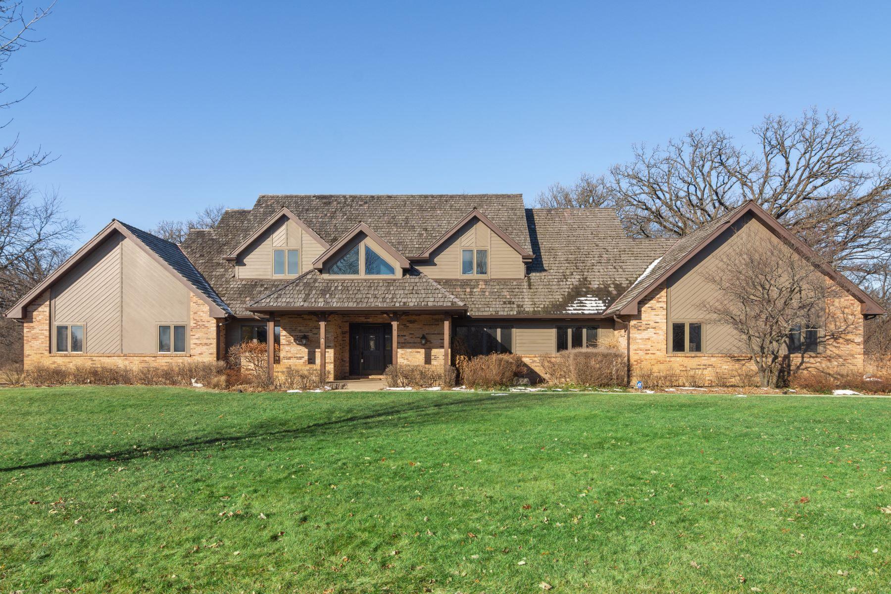 Single Family Homes για την Πώληση στο Five Private Acres 21710 N Hickory Lane Barrington Hills, Ιλινοϊσ 60010 Ηνωμένες Πολιτείες