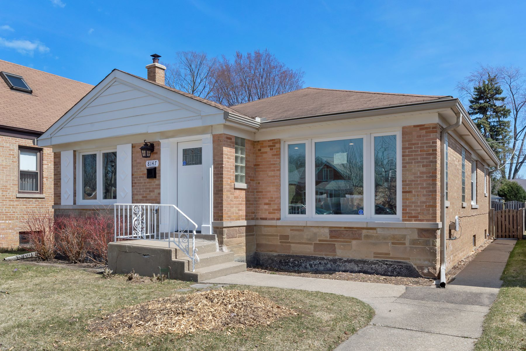 Single Family Homes for Active at Charming Brick Rehab 8147 Lowell Avenue Skokie, Illinois 60076 United States