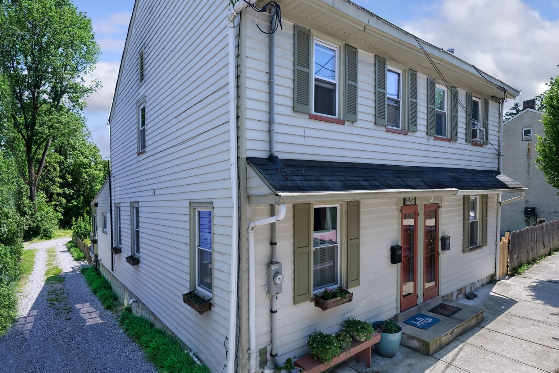 Single Family Homes for Sale at Don't Let This One Get Away! 43 Ferry Street, Lambertville, New Jersey 08530 United States