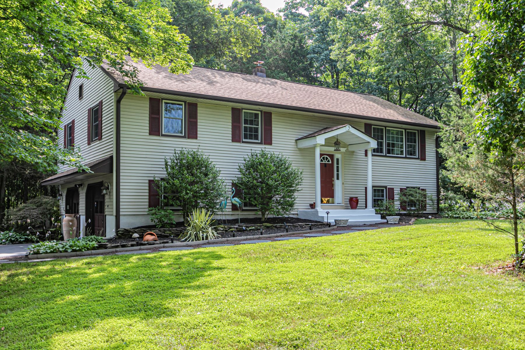 Single Family Homes for Sale at Natural Light Fills This Beautifully Updated Home 3 Sycamore Lane, Skillman, New Jersey 08558 United States