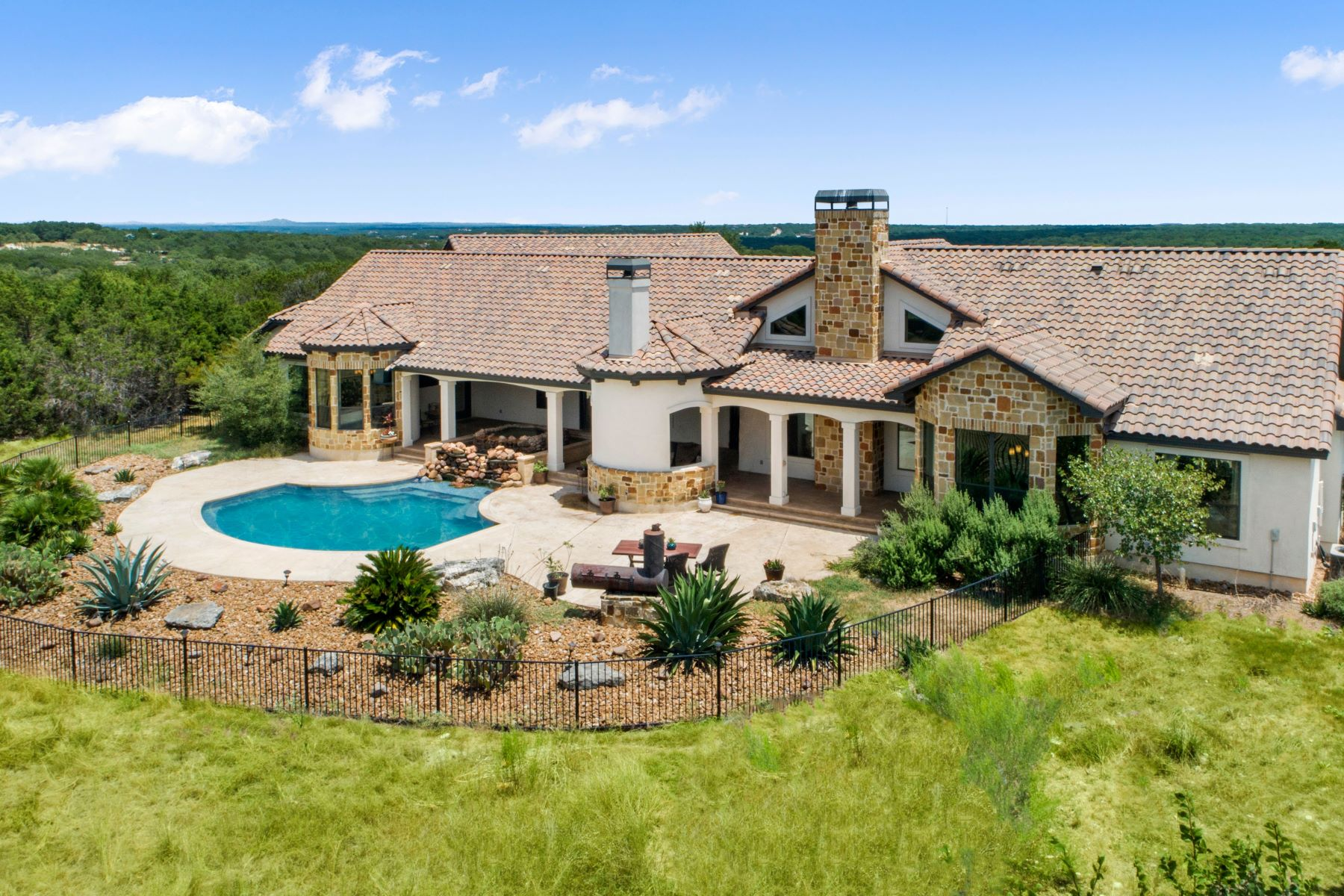Single Family Homes for Sale at Beautiful Texas Hill Country Home 106 Northwind Boerne, Texas 78006 United States