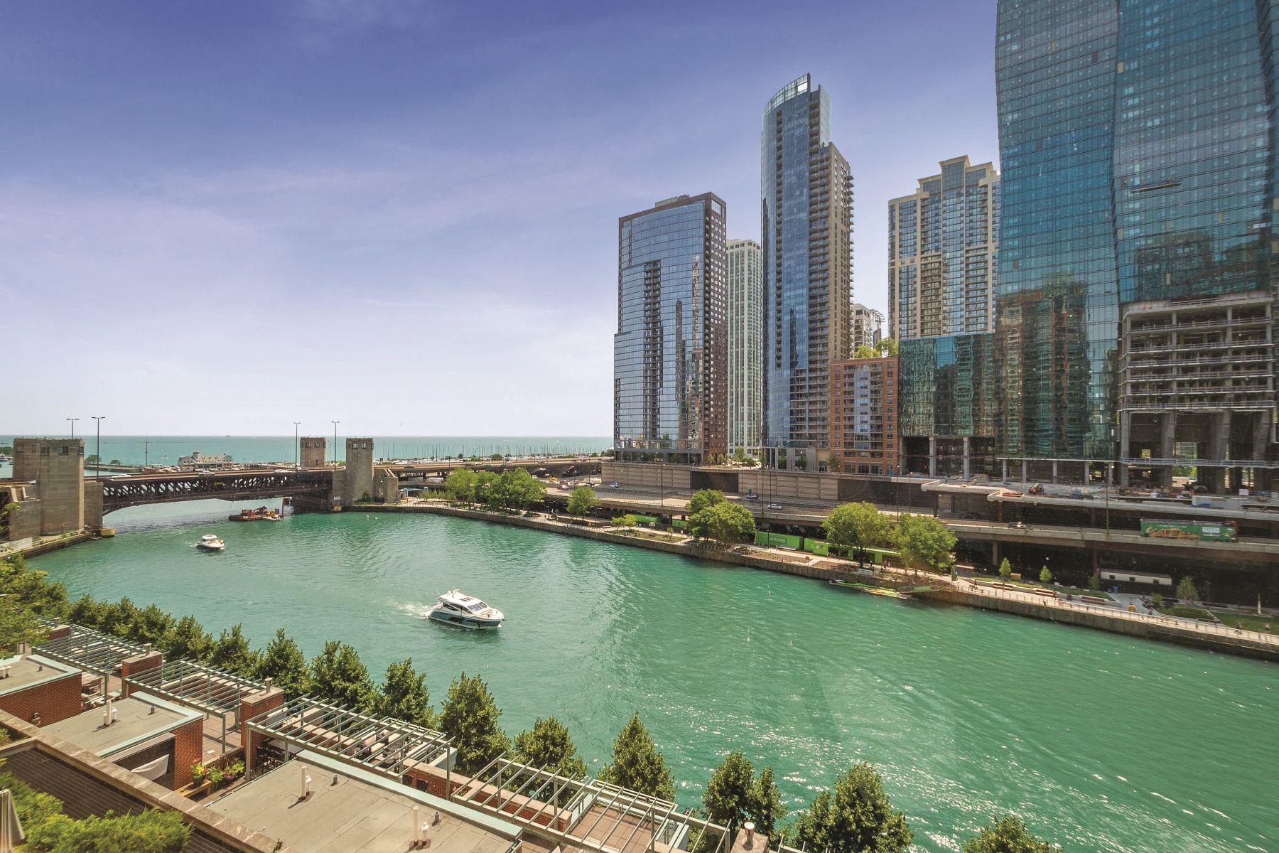 Condominiums 为 销售 在 Premier River Residences 415 E North Water Street Unit W-905 芝加哥, 伊利诺斯州 60611 美国