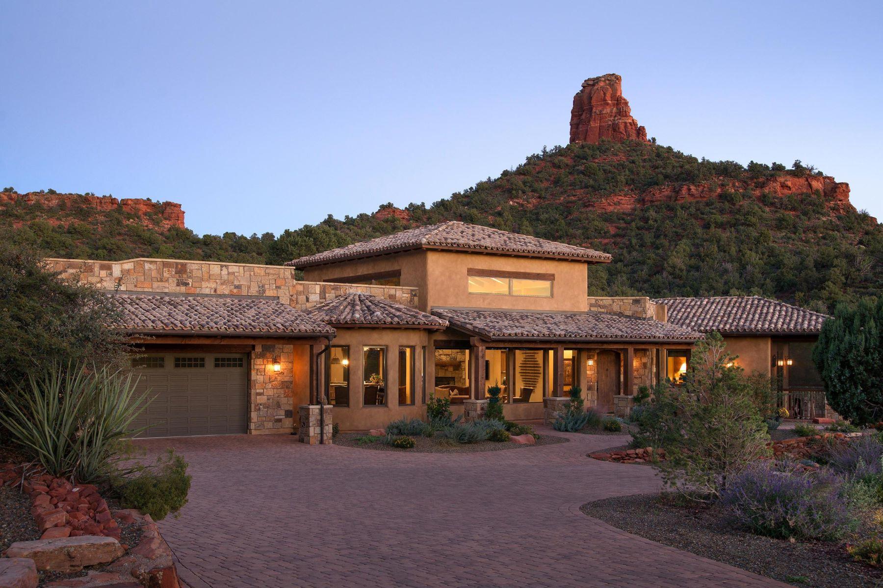 Single Family Homes για την Πώληση στο 3165 Lizard Head Lane, Sedona, AZ 86336 Sedona, Αριζονα 86336 Ηνωμένες Πολιτείες