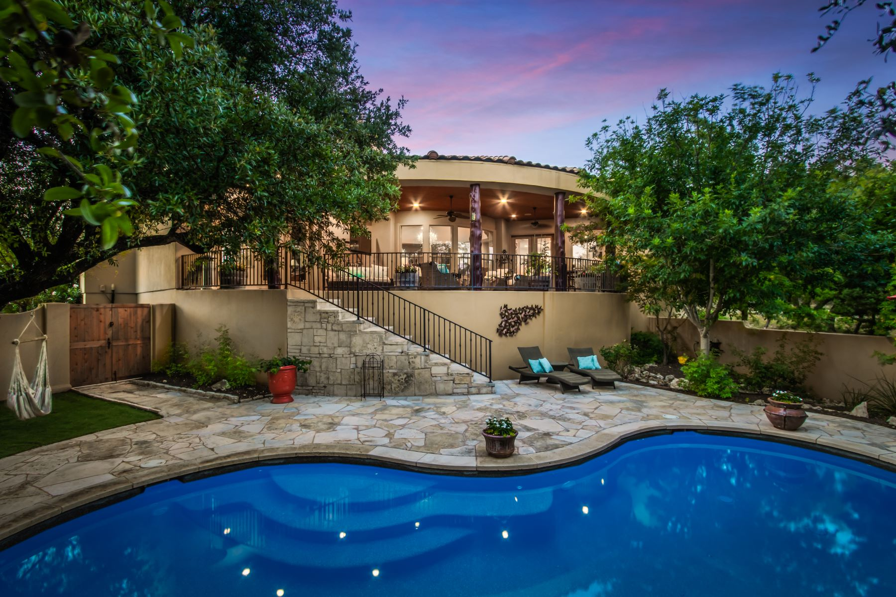 Single Family Homes for Sale at Modernistic Santa Fe design 4188 Bee Creek Road Spicewood, Texas 78669 United States