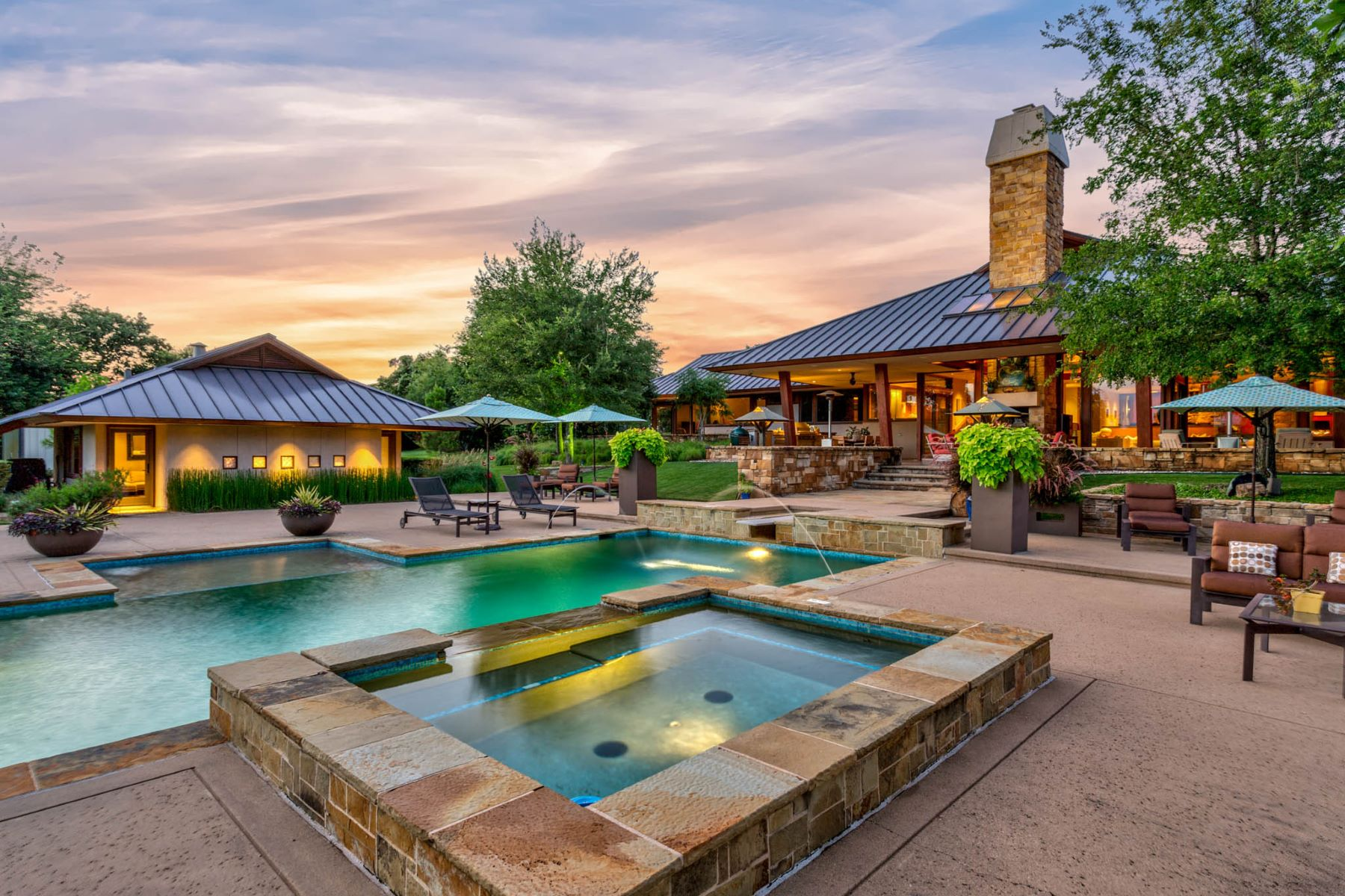 Single Family Homes for Sale at Sustainable Ranch Style Home with Mid-Century Flair 4808 Bill Simmons Road Colleyville, Texas 76034 United States