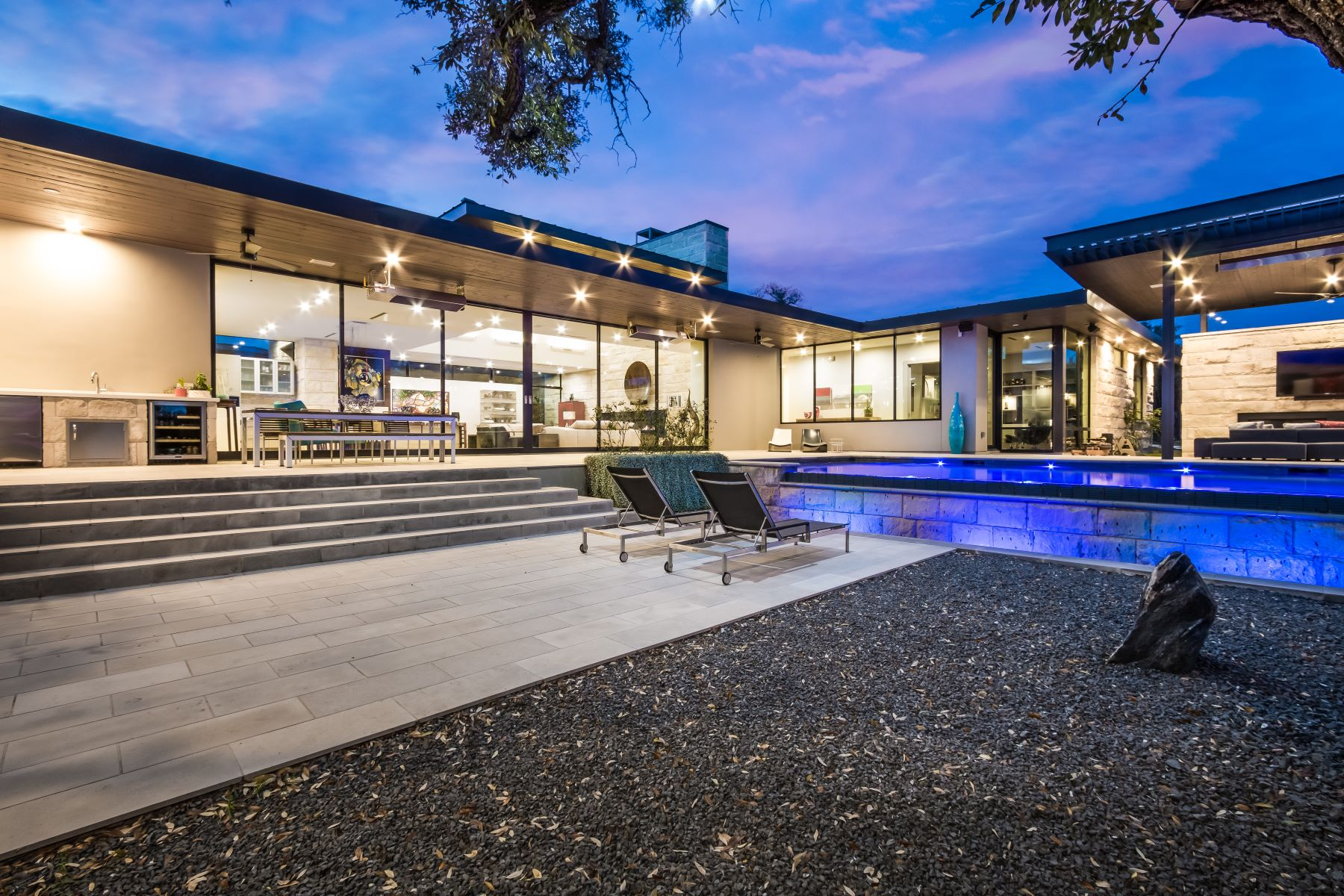 Additional photo for property listing at Dick Clark Contemporary on 2 Acres 4017 Verano Dr Austin, Texas 78735 United States