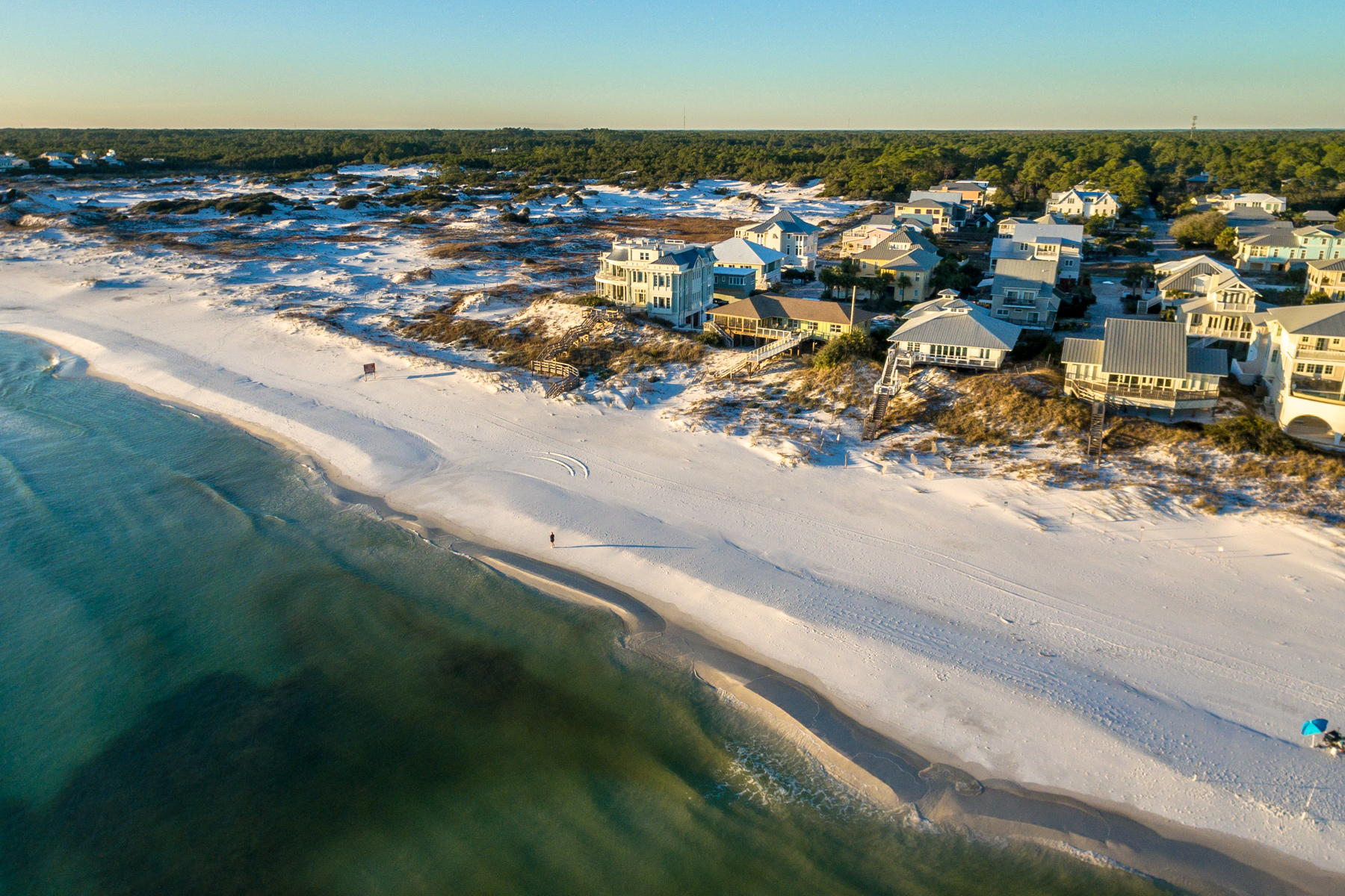 Terreno por un Venta en Rare Gulf-front Ownership Opportunity in Grayton Beach 79 Lupine Road, Santa Rosa Beach, Florida 32459 Estados Unidos