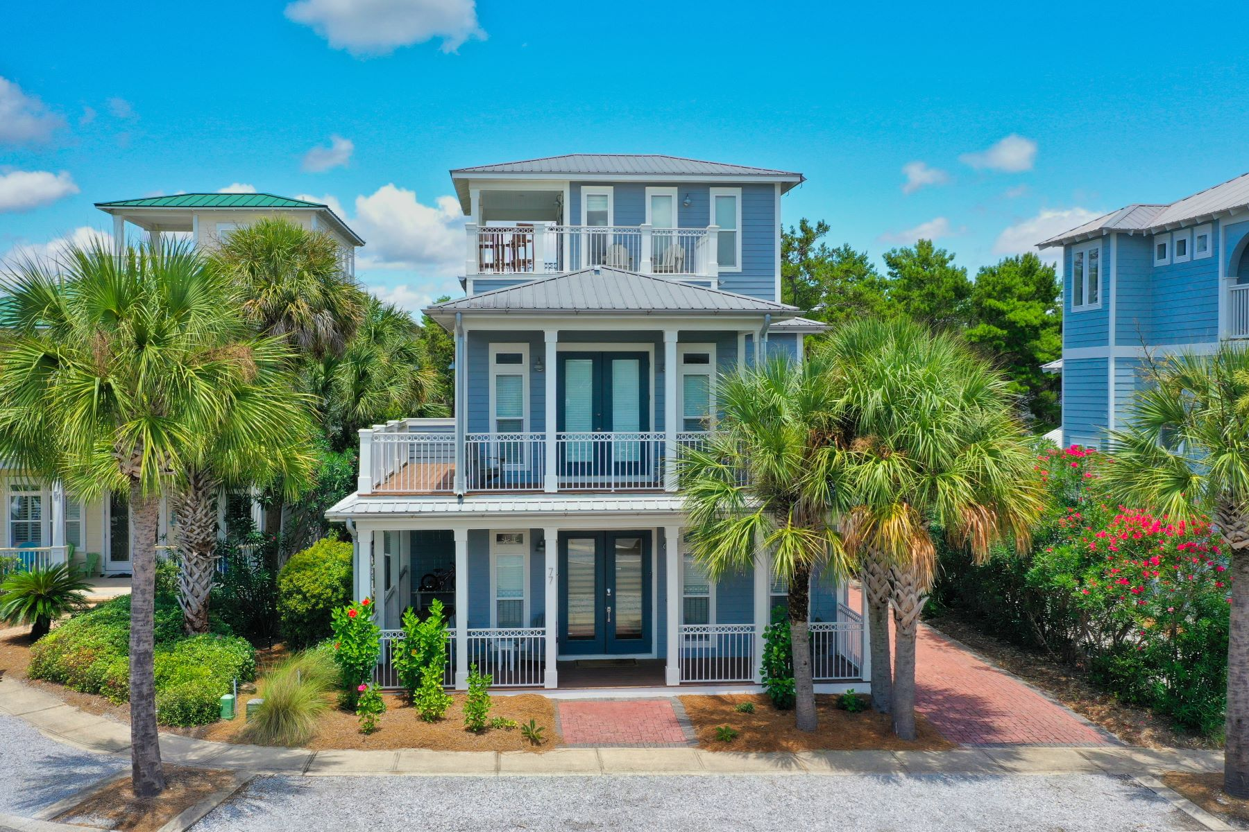 Single Family Homes for Active at Newly Remodeled Seacrest Beach Home Conveys Impeccably Furnished 77 East Cobia Run Seacrest, Florida 32461 United States