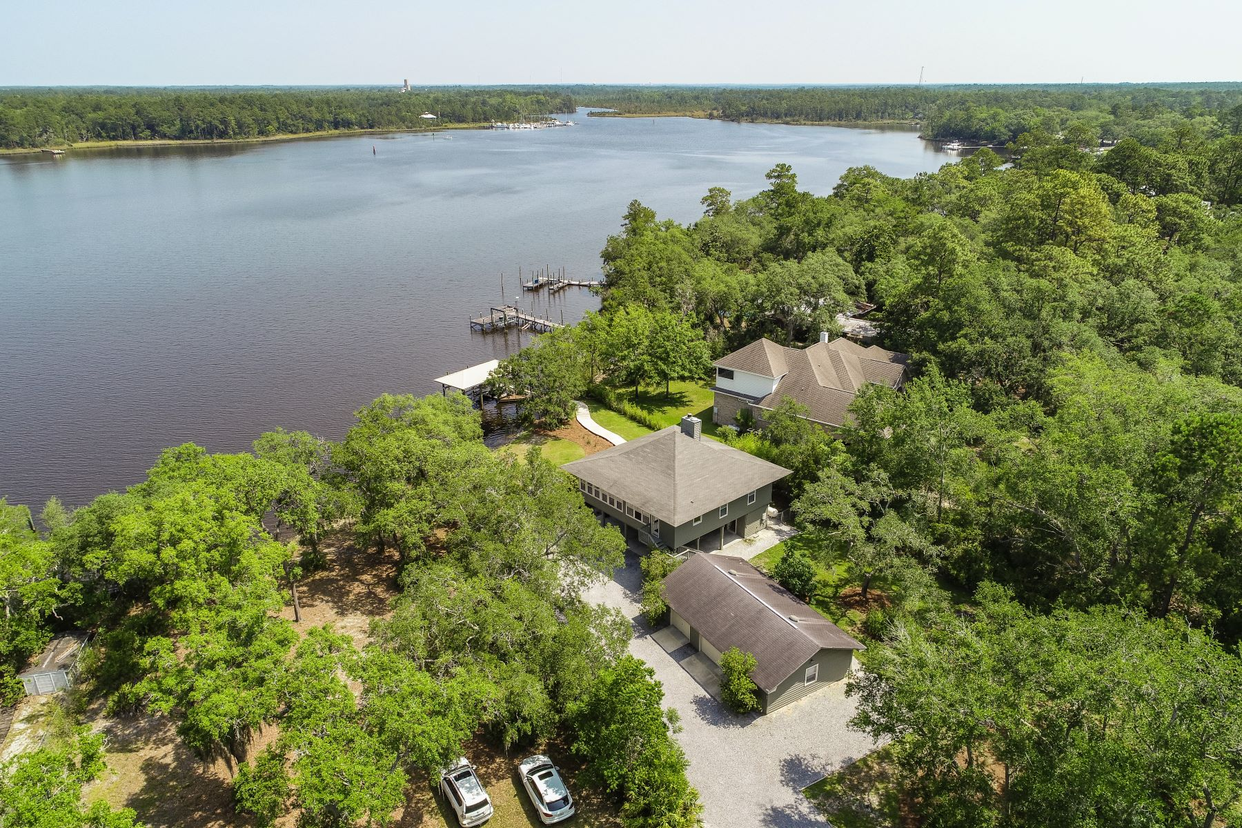 single family homes for Active at Lagrange Bayou Florida Cottage Close to Marina 432 Holly Point Road Freeport, Florida 32439 United States