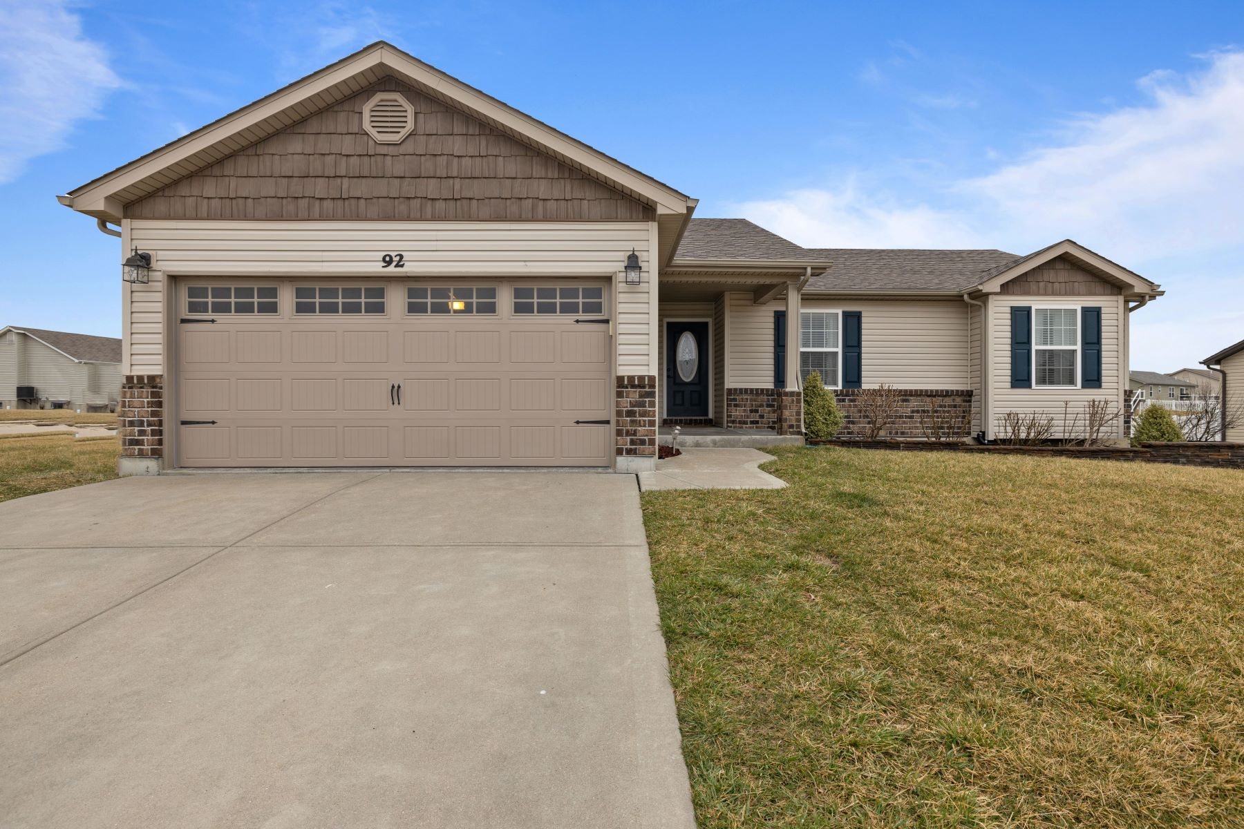 Single Family Homes for Active at Charming Wentzville Ranch — Great For Entertaining 92 Brookshire Creek Drive Wentzville, Missouri 63385 United States