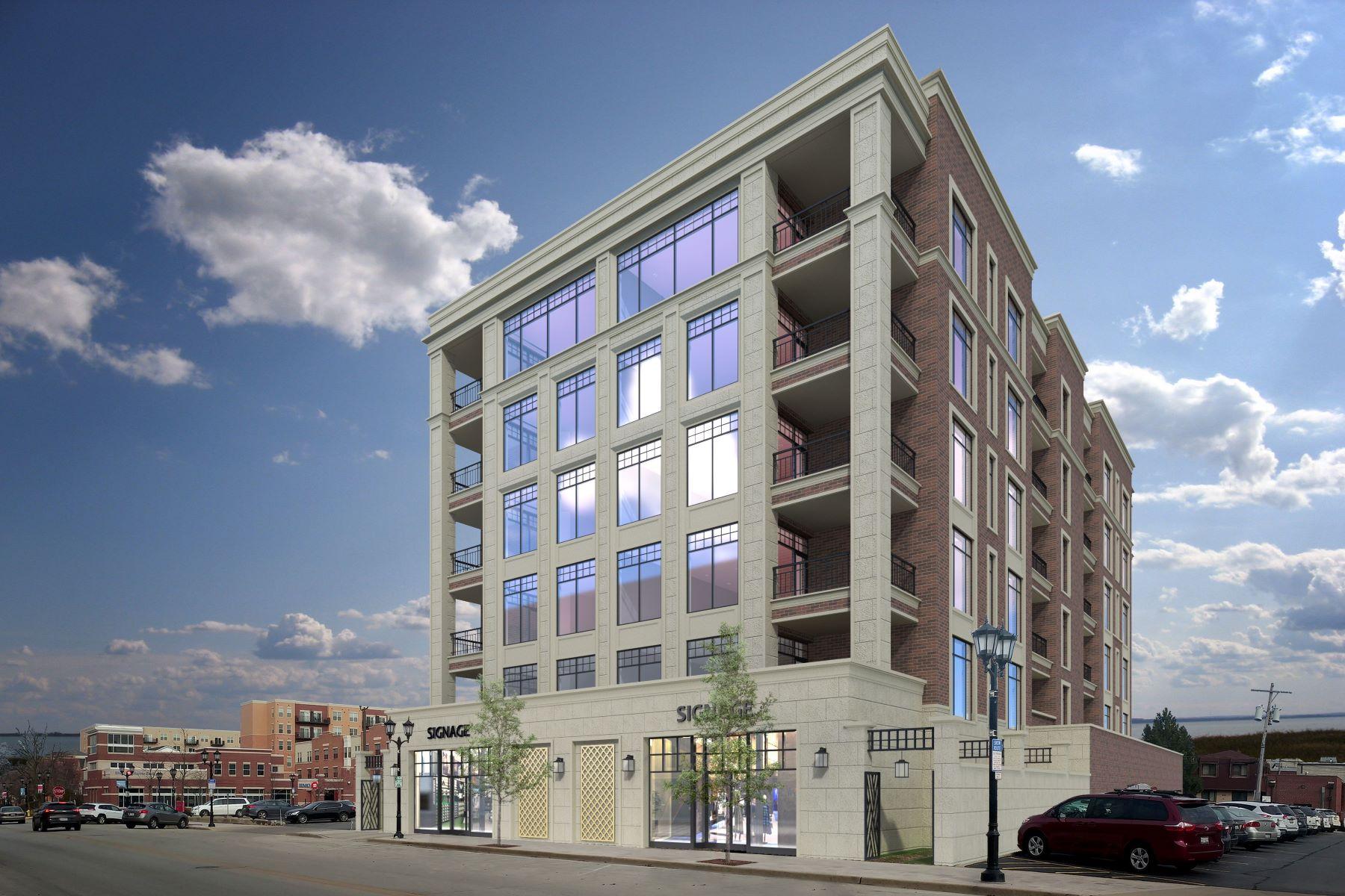 Condominiums para Venda às One95 Elmhurst 195 N Addison Avenue, Unit 403, Elmhurst, Illinois 60126 Estados Unidos