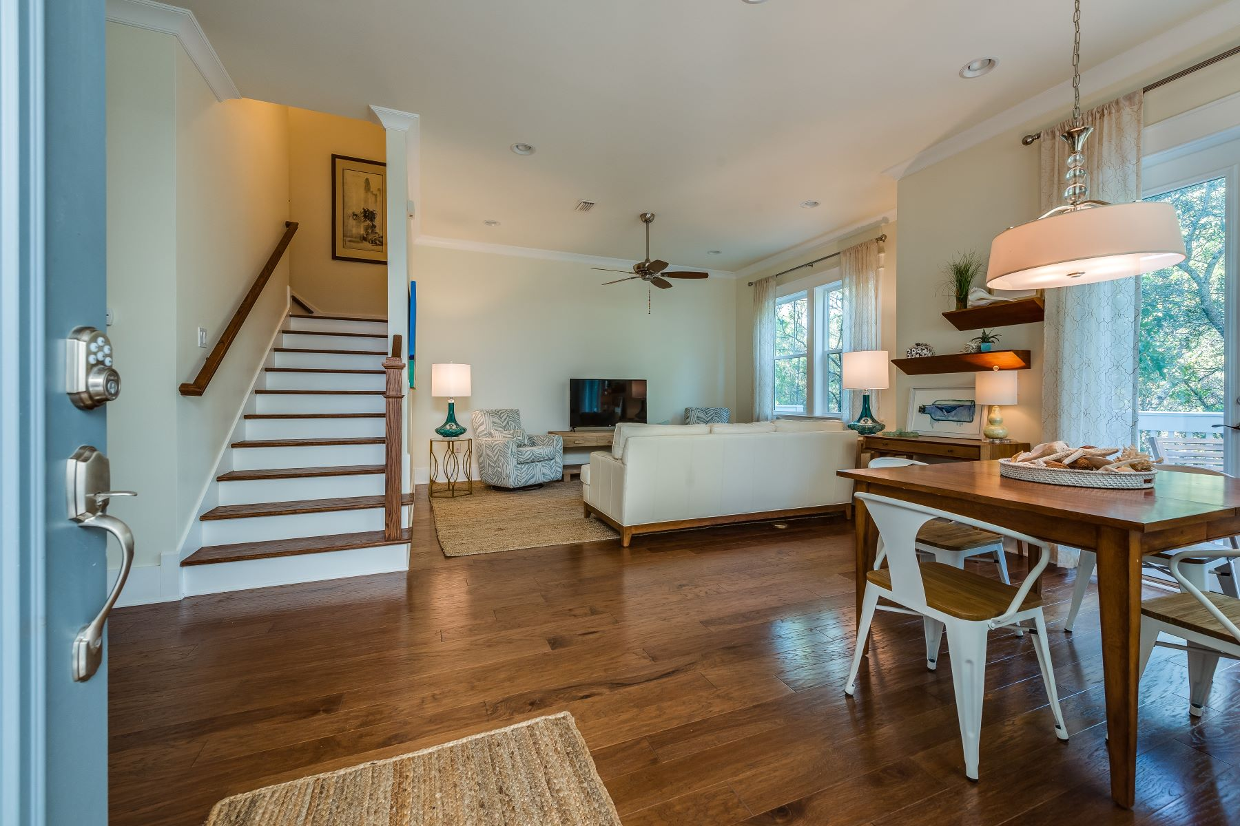 Single Family Homes por un Venta en Charming Townhome in Inlet Beach with Community Amenities 167 Milestone Drive Unit B, Inlet Beach, Florida 32461 Estados Unidos