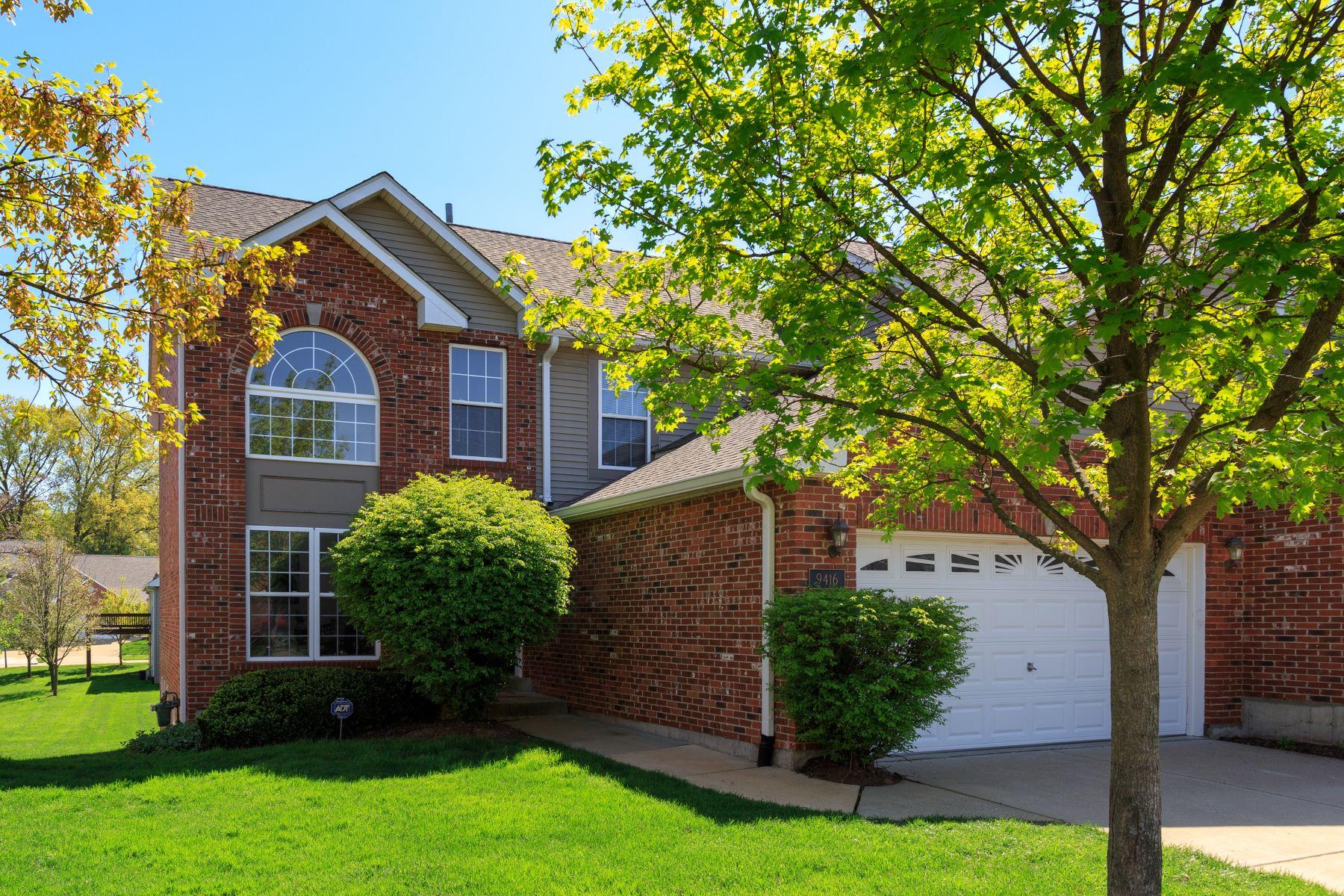 Частный односемейный дом для того Продажа на 9416 Natalie Circle Olivette, Миссури 63132 Соединенные Штаты