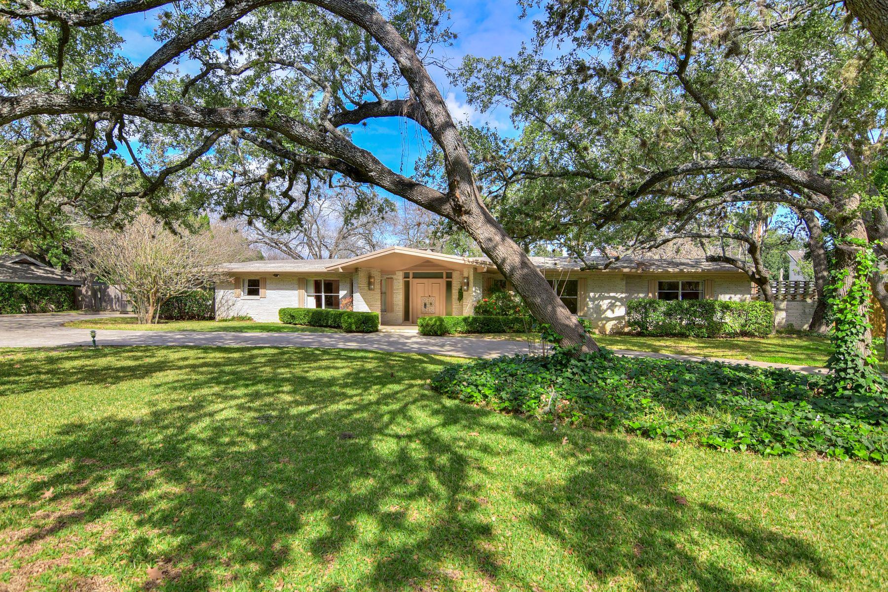 Single Family Homes für Verkauf beim Mid Century Design in Castle Hills 113 Cas Hills Drive, San Antonio, Texas 78213 Vereinigte Staaten