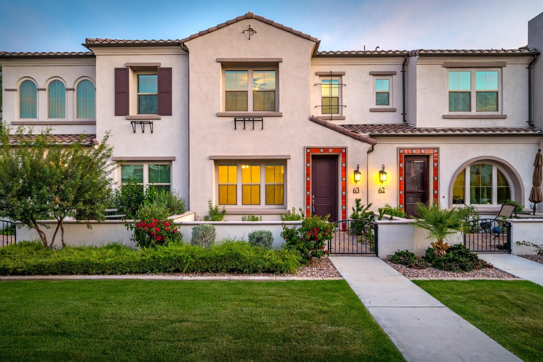 townhouses για την Πώληση στο Siena At Ocotillo Condominium 2477 W Market PL 63, Chandler, Αριζονα 85248 Ηνωμένες Πολιτείες