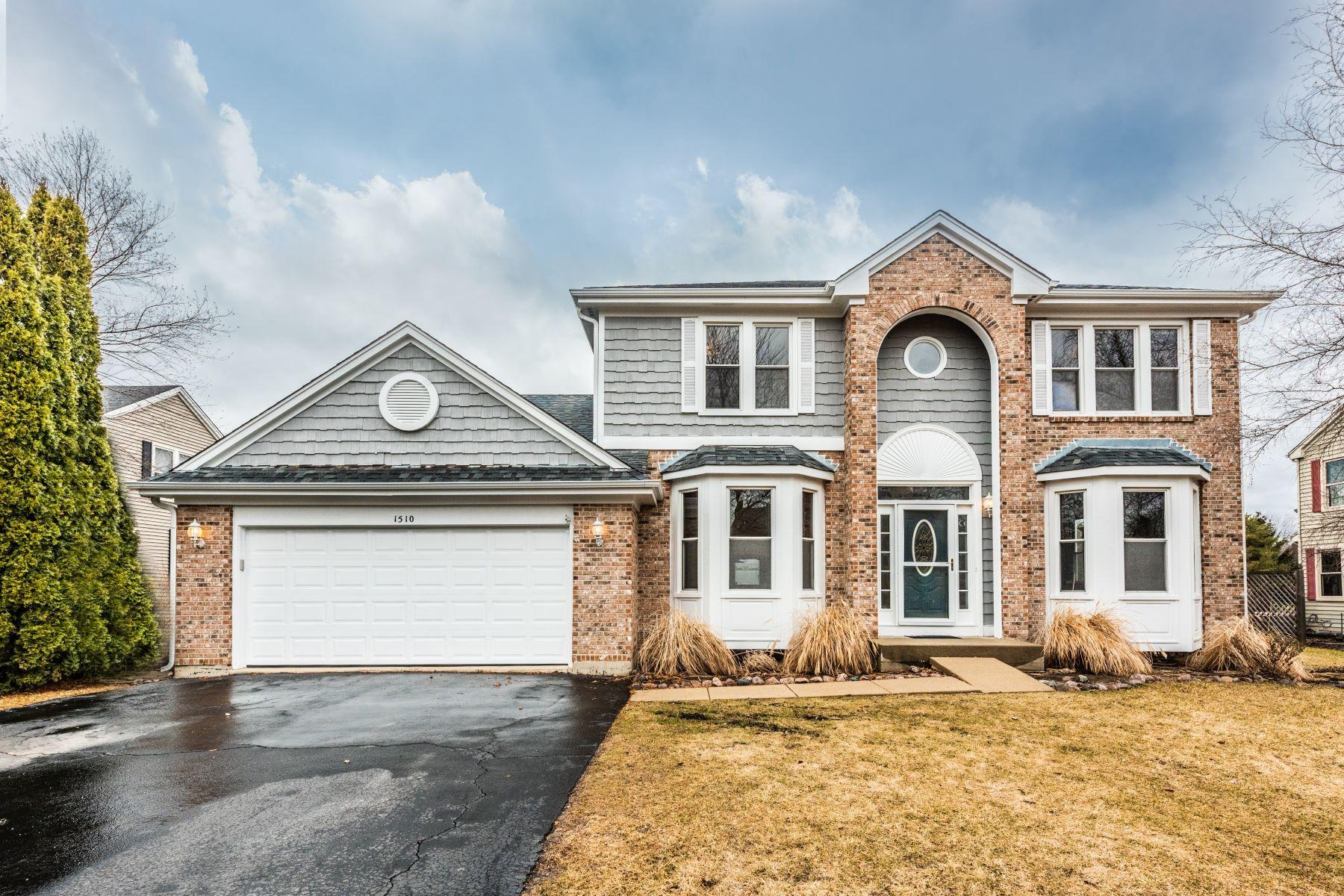 Single Family Home for Sale at Beautiful Woodcreek Home 1510 Dogwood Drive Crystal Lake, Illinois 60014 United States