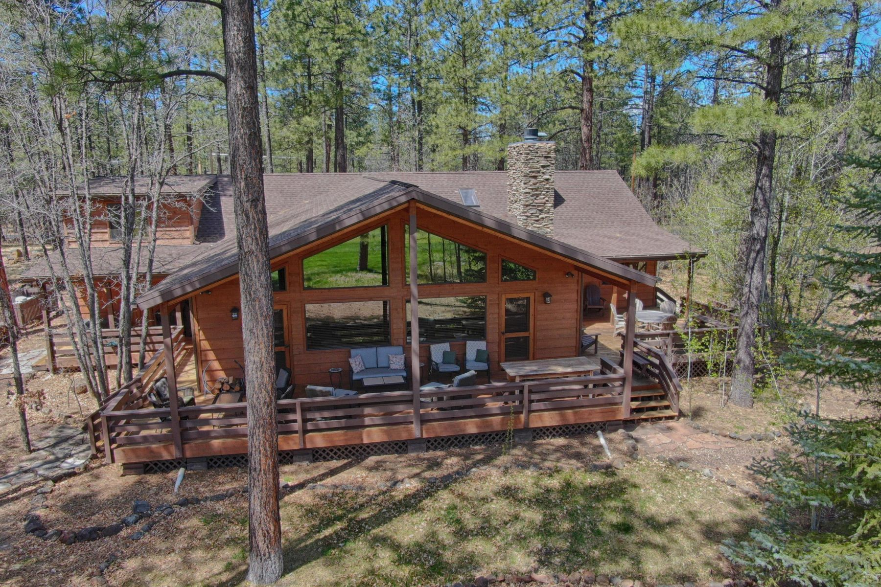 Single Family Homes για την Πώληση στο White Mountain Summer Homes 3365 Aspen LN, Pinetop, Αριζονα 85935 Ηνωμένες Πολιτείες