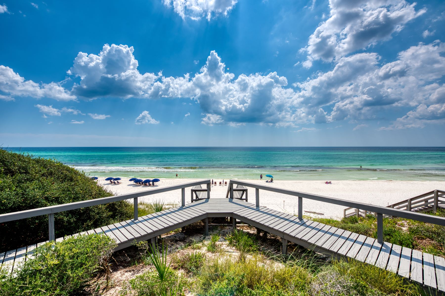 Single Family Homes por un Venta en Private Gulf-front Oasis Boasting 90 Feet of Beachfront 8016 East County Highway 30A, Seacrest, Florida 32461 Estados Unidos