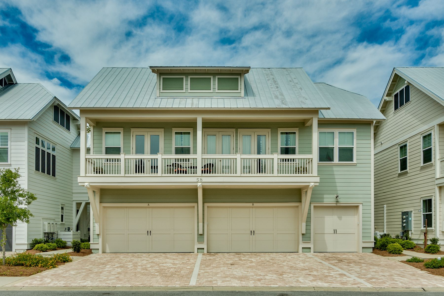 for Sale at Immaculate Turn-key Townhome with Resort Amenities in Prominence 58 York Lane B Inlet Beach, Florida 32461 United States