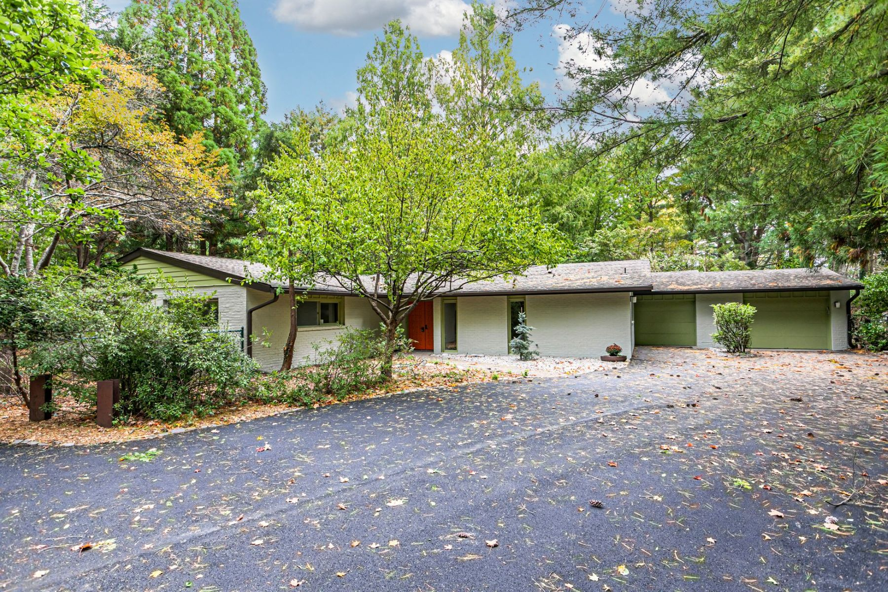 Single Family Homes for Sale at Authentic Mid-century Modern Home 1028 Mercer Road, Princeton, New Jersey 08540 United States