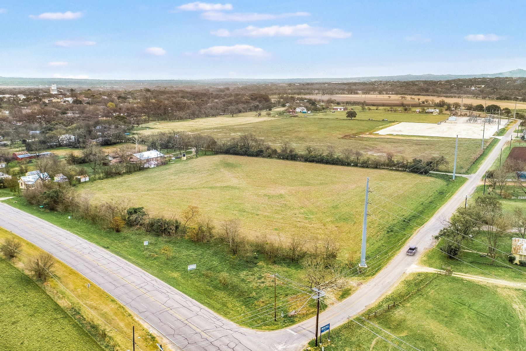 Land for Active at Commercial Potential near Cypress Creek 7.01 Ac - State Hwy 27 Commerical Comfort, Texas 78013 United States