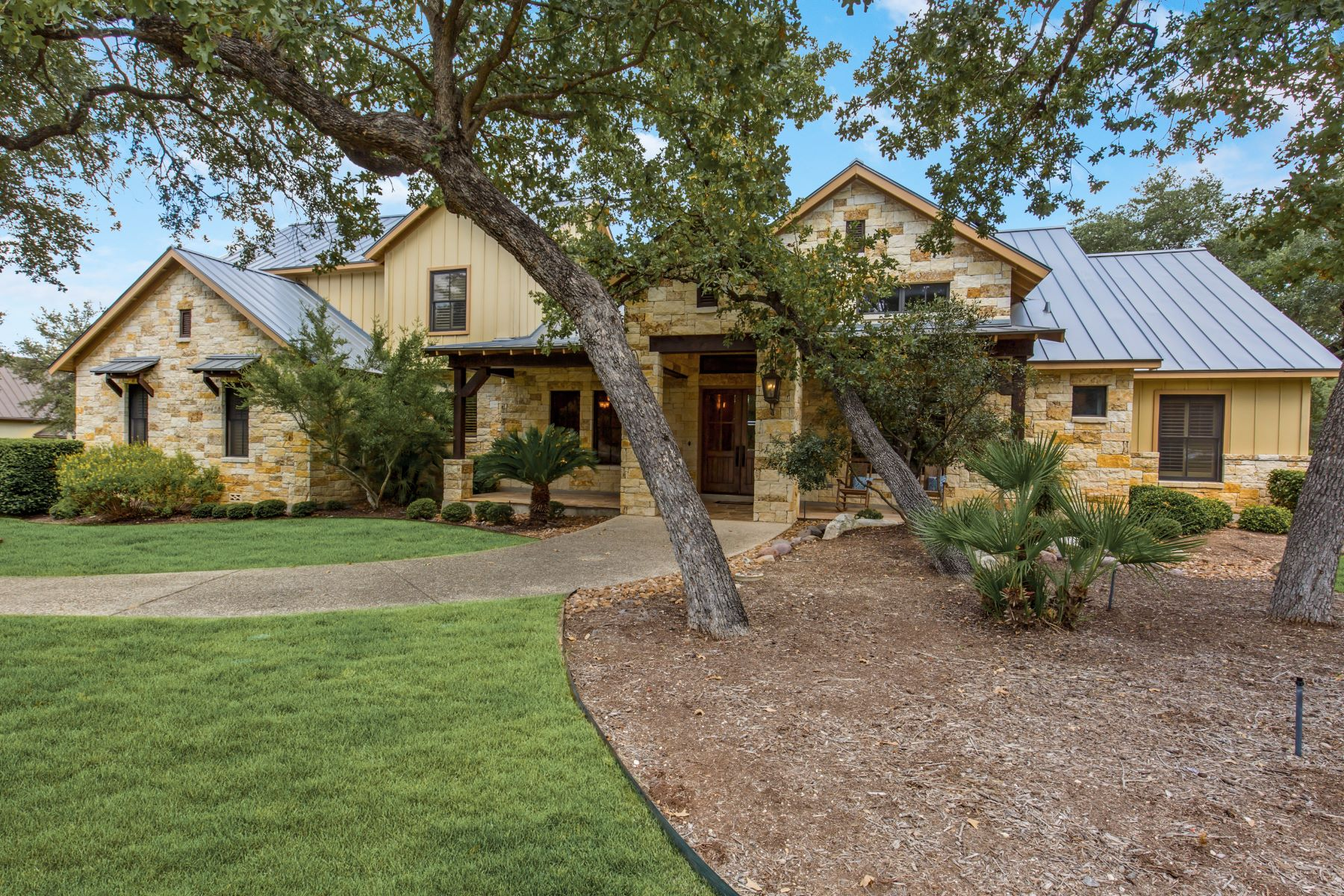 Single Family Homes for Active at Stunning Home on Spectacular Property 148 Riverwood Boerne, Texas 78006 United States