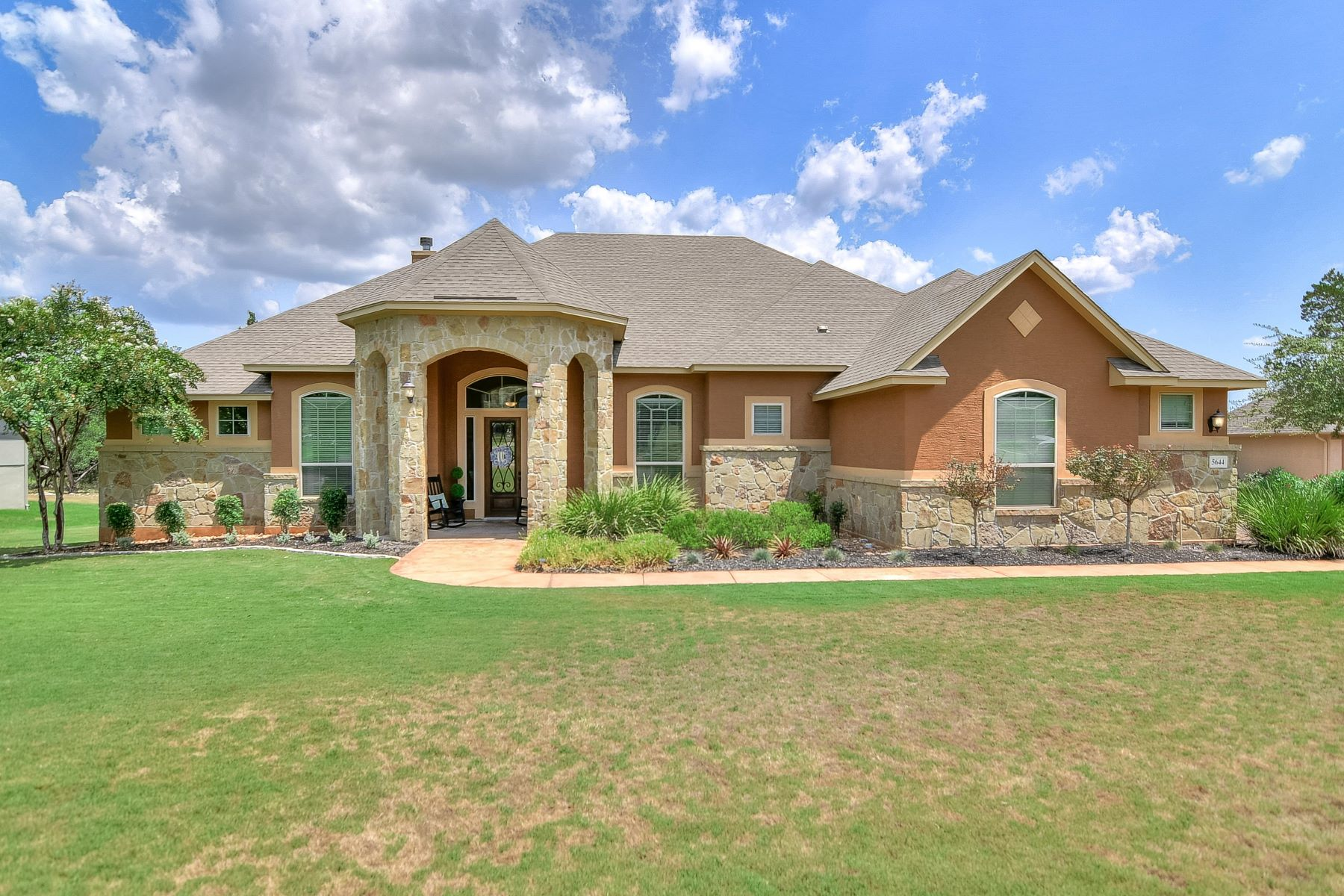 Single Family Homes for Sale at Magnificent Home in Copper Ridge 5644 Copper Creek New Braunfels, Texas 78132 United States