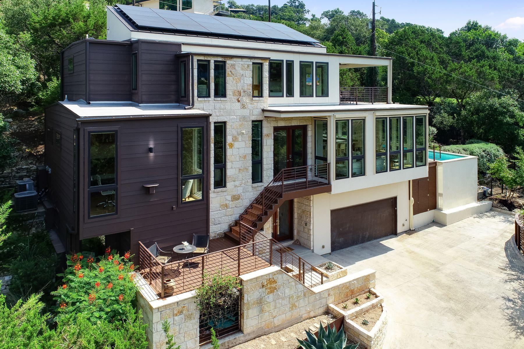 Single Family Homes 용 매매 에 508 Laurel Valley Road, West Lake Hills, TX 78746 West Lake Hills, 텍사스 78746 미국