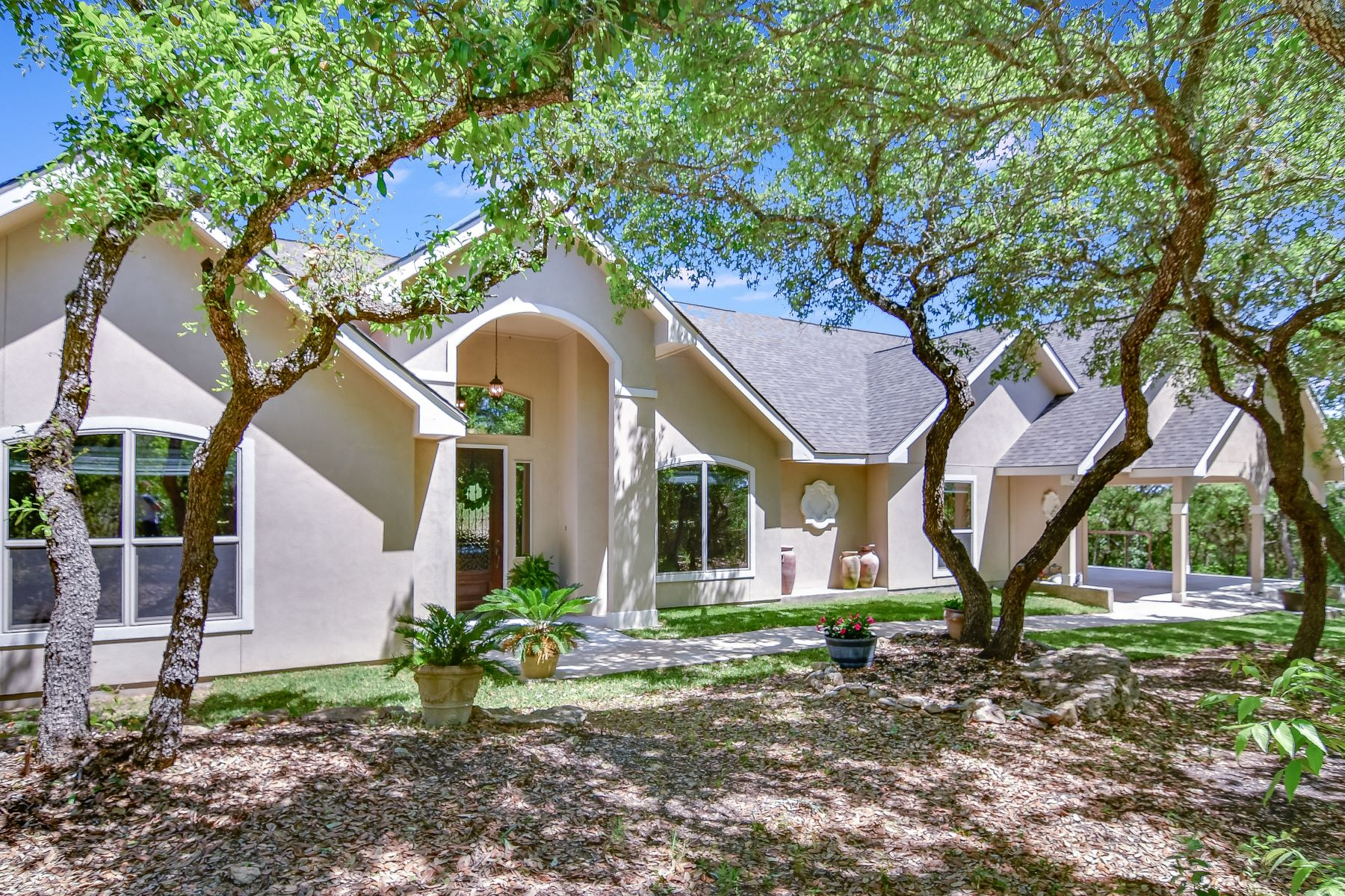 Single Family Homes for Sale at Peace and Solitude Minutes from the City 13637 Lytle Lane Helotes, Texas 78023 United States