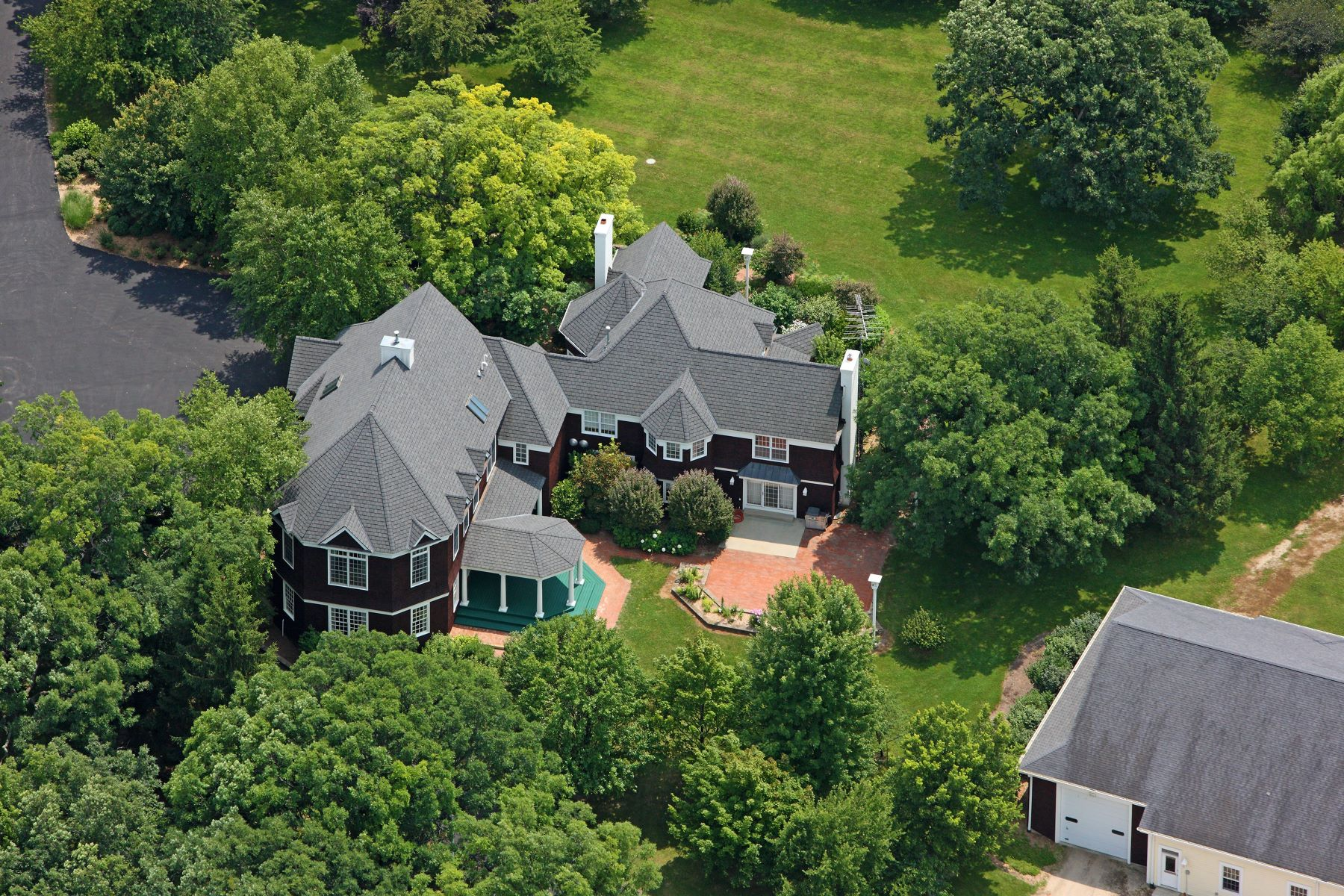 Single Family Homes for Sale at Stunning Cape Cod Estate 16556b County Line Road Capron, Illinois 61012 United States