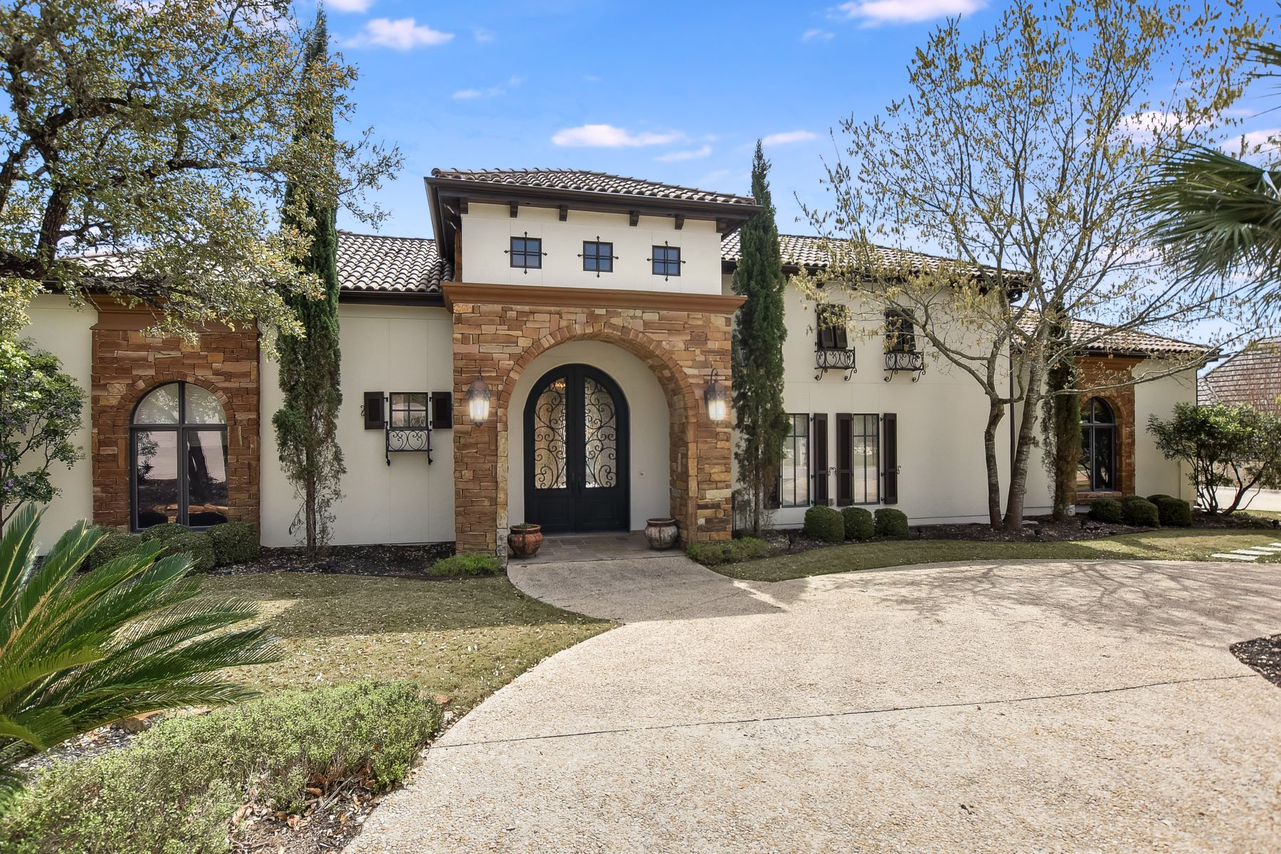 Single Family Home for Sale at Timeless Mediterranean Estate in The Dominion 16 Esquire, San Antonio, Texas, 78257 United States