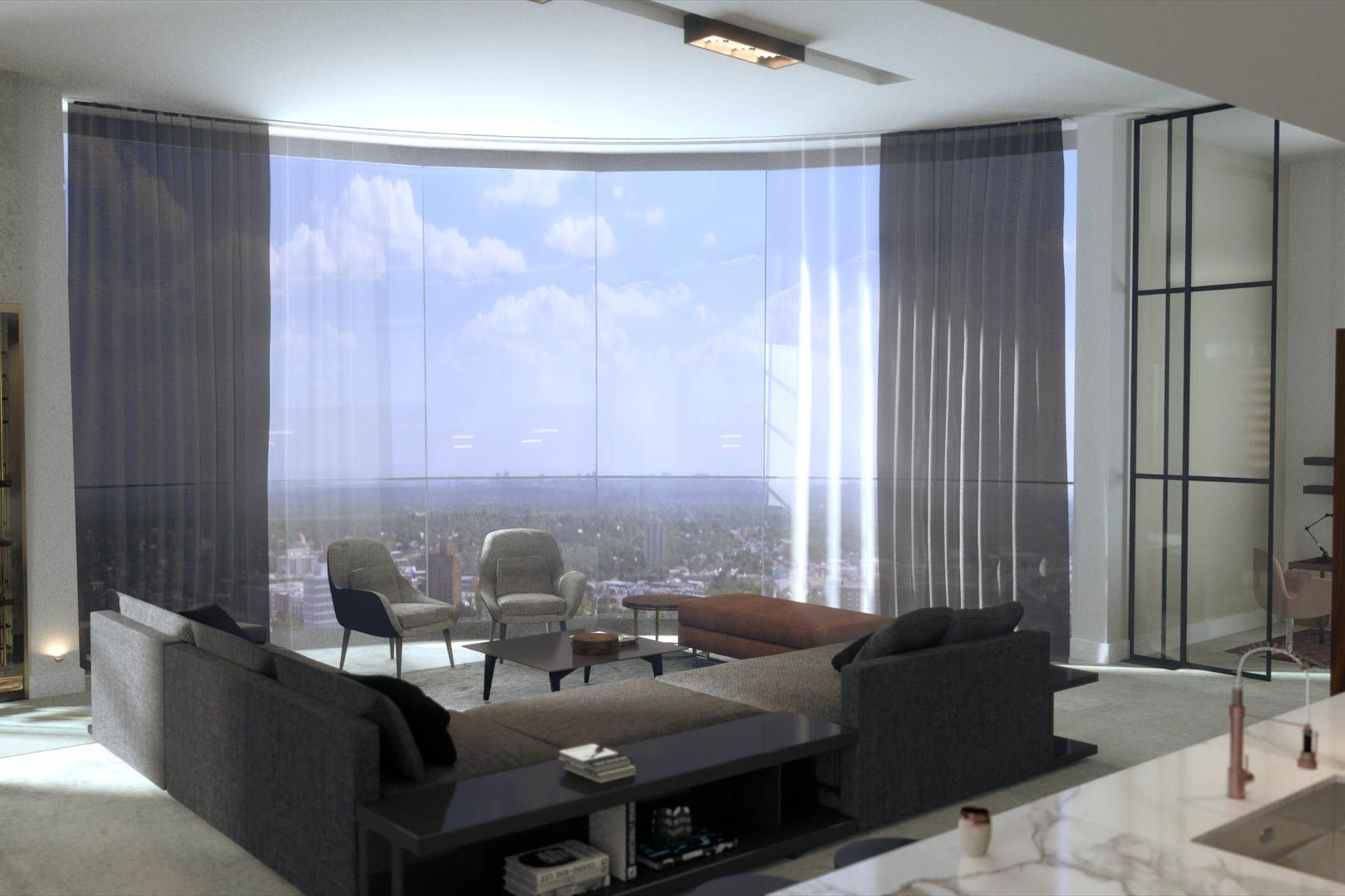 Condominiums für Verkauf beim Premier Two-Story Penthouse 123 Lexington Avenue #1802/1902, San Antonio, Texas 78205 Vereinigte Staaten