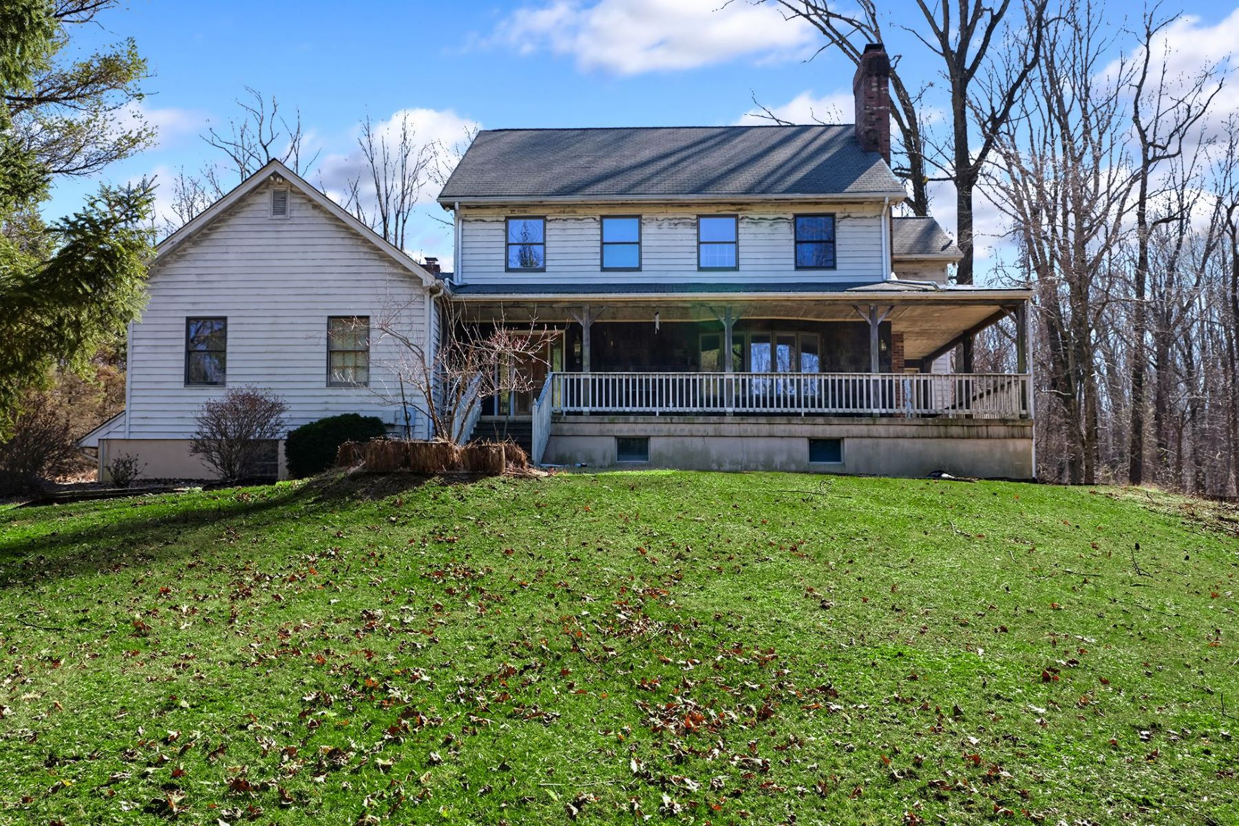 Single Family Homes for Sale at Surprisingly Private with Space to Spare 605 State Road, Princeton, New Jersey 08540 United States