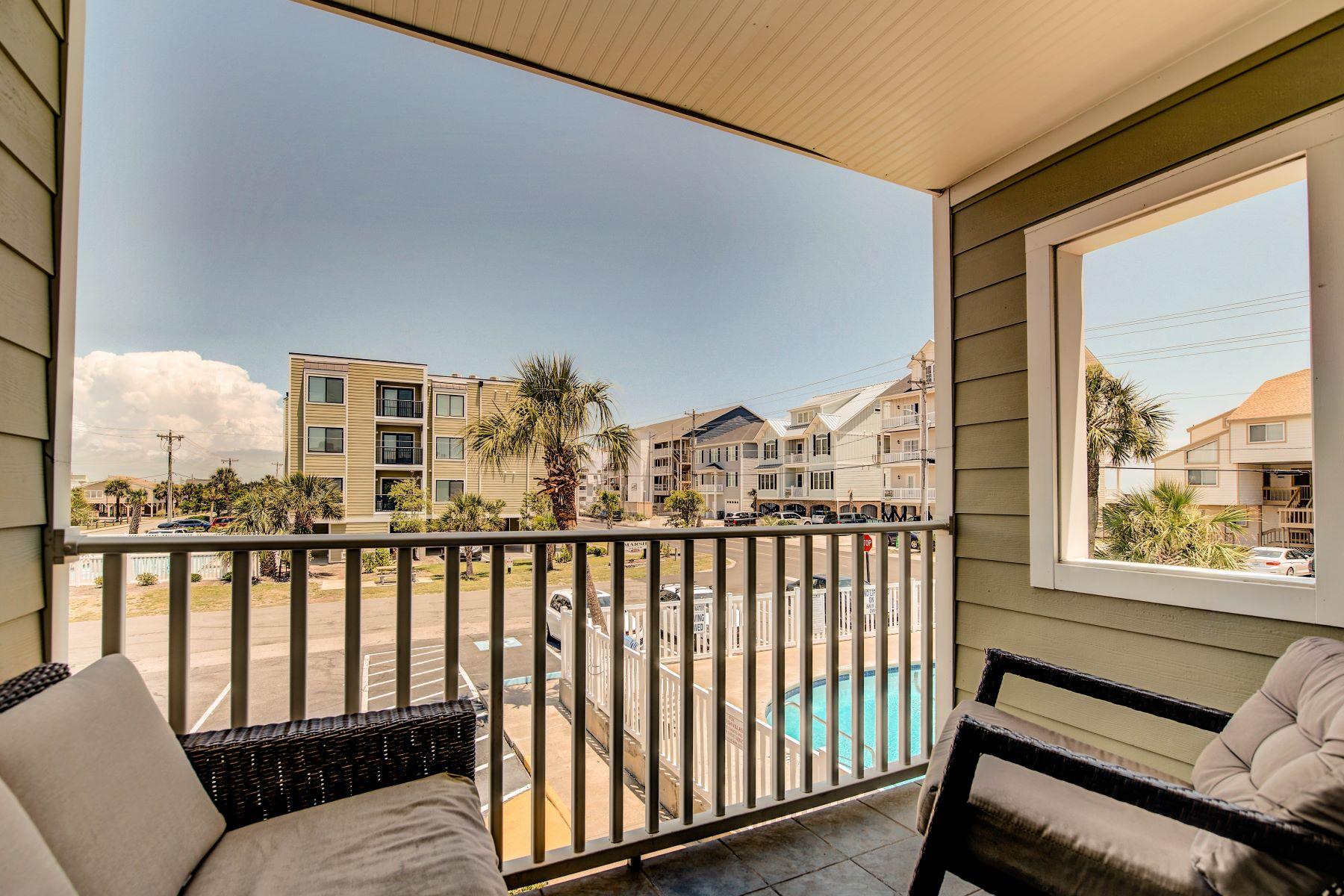 Condominiums por un Venta en 4801 North Ocean Boulevard Unit 2H, North Myrtle Beach, SC 29582 North Myrtle Beach, Carolina del Sur 29582 Estados Unidos