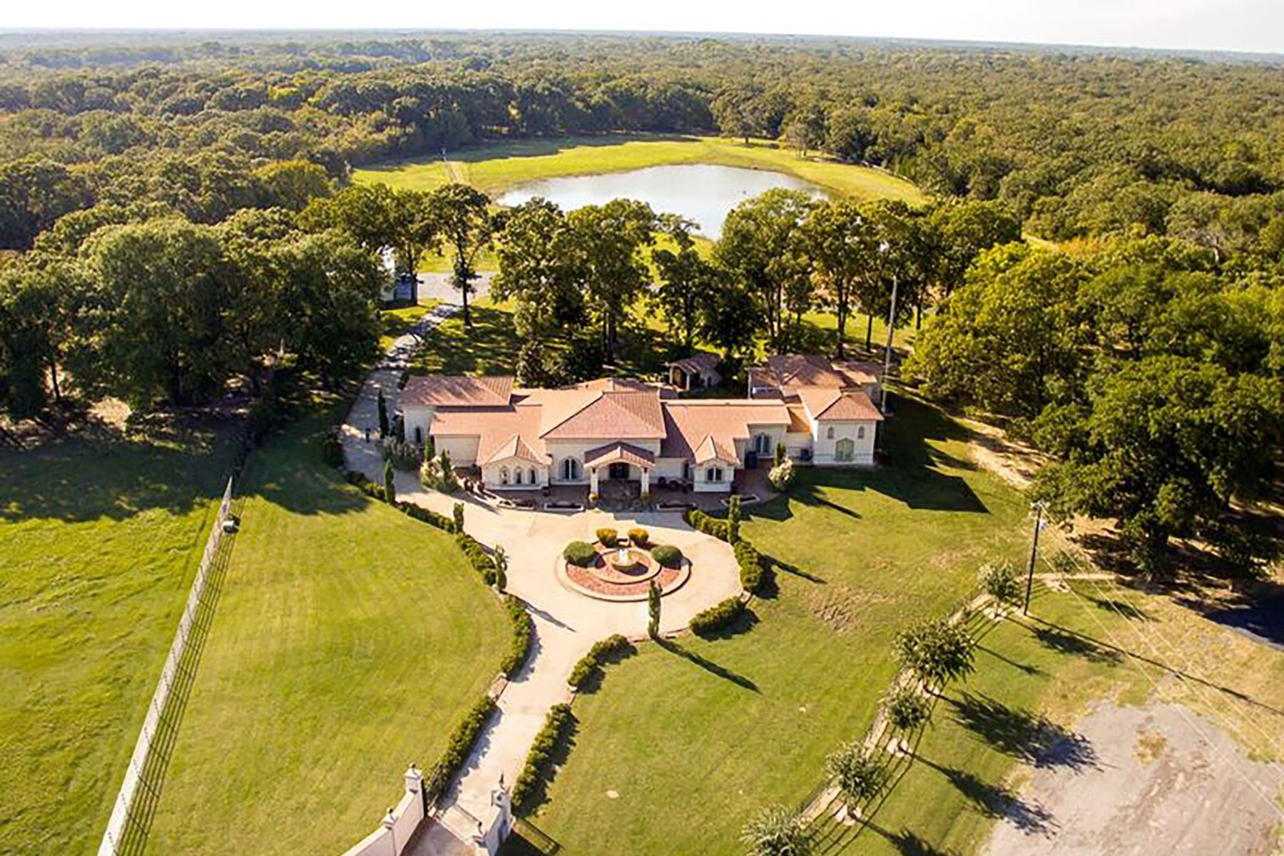 Farm / Ranch / Plantation for Sale at Villa Marquis Lakefront Estate 250 County Road 1788 Yantis, Texas 75497 United States