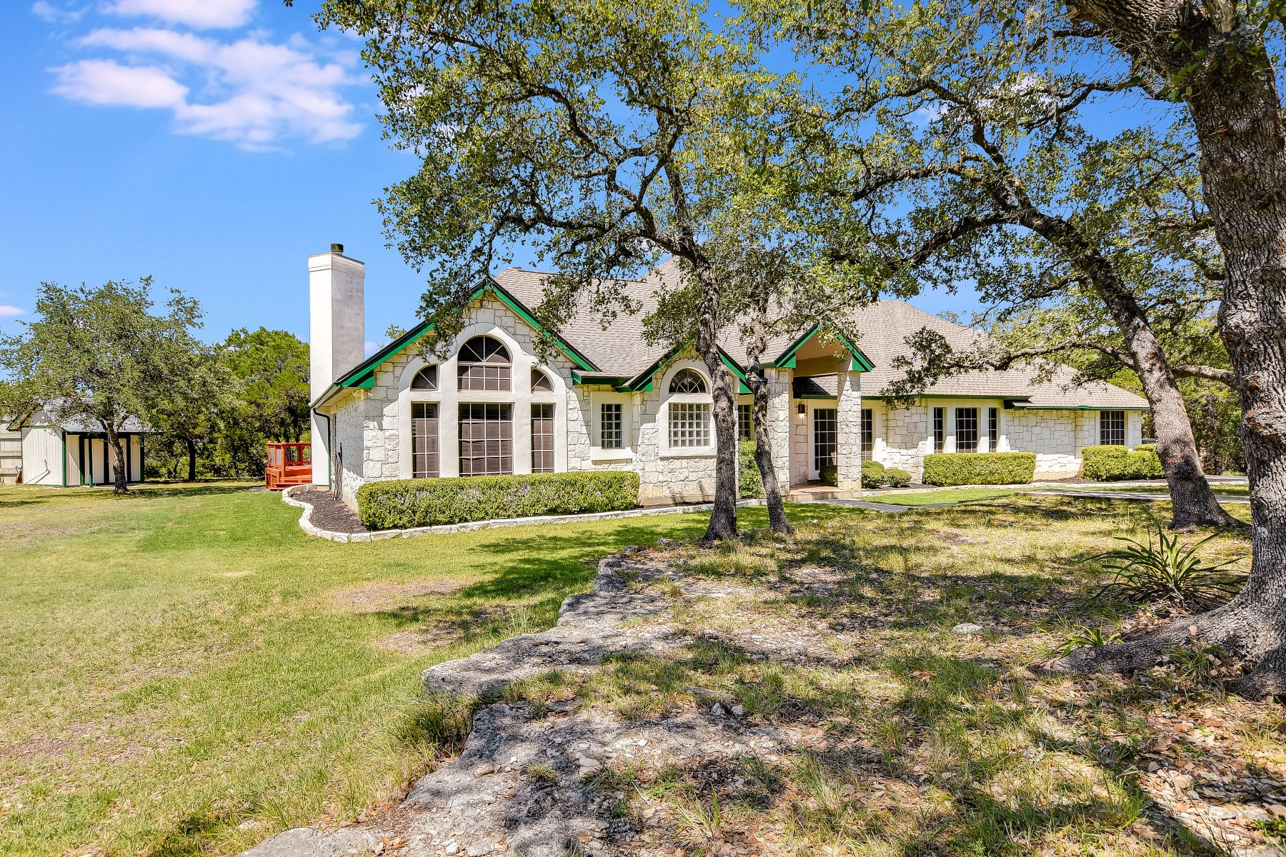 Single Family Homes for Sale at Spectacular Texas Hill Country Living 2739 John Charles Road Bulverde, Texas 78163 United States