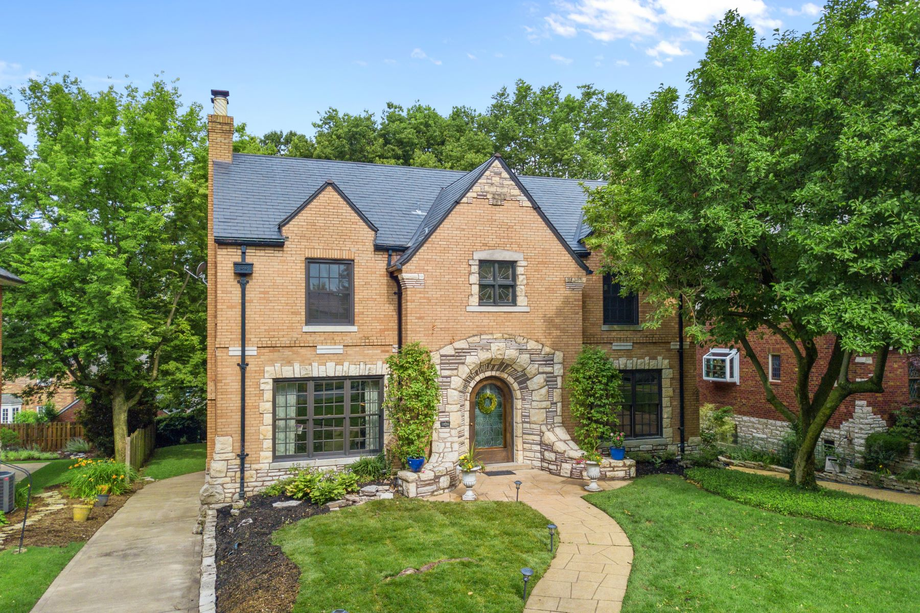 Property for Sale at Classic Clayton Home in Picturesque Setting 65 Crestwood Drive Clayton, Missouri 63105 United States