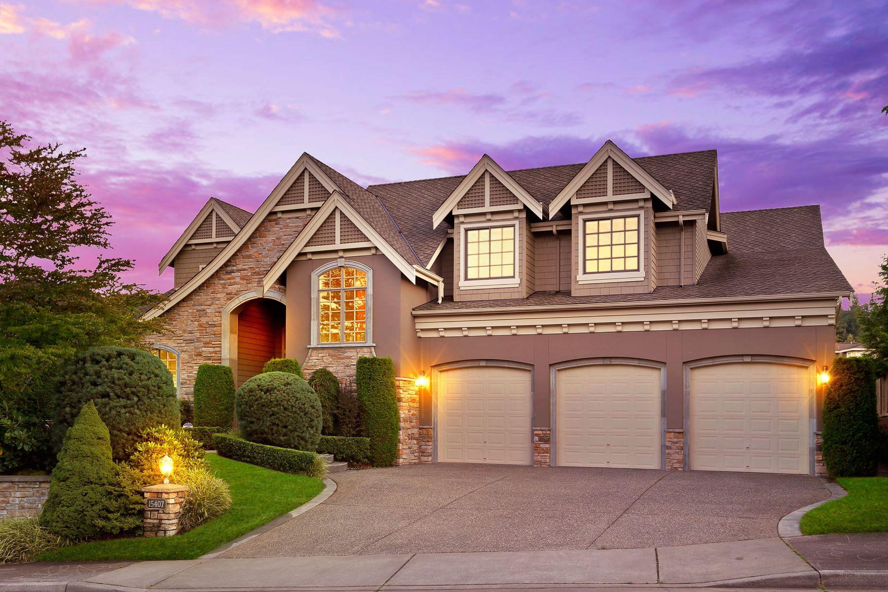 Single Family Homes for Sale at 15407 Southeast 80th Street, Newcastle, WA 98059 15407 SE 80th St Newcastle, Washington 98059 United States