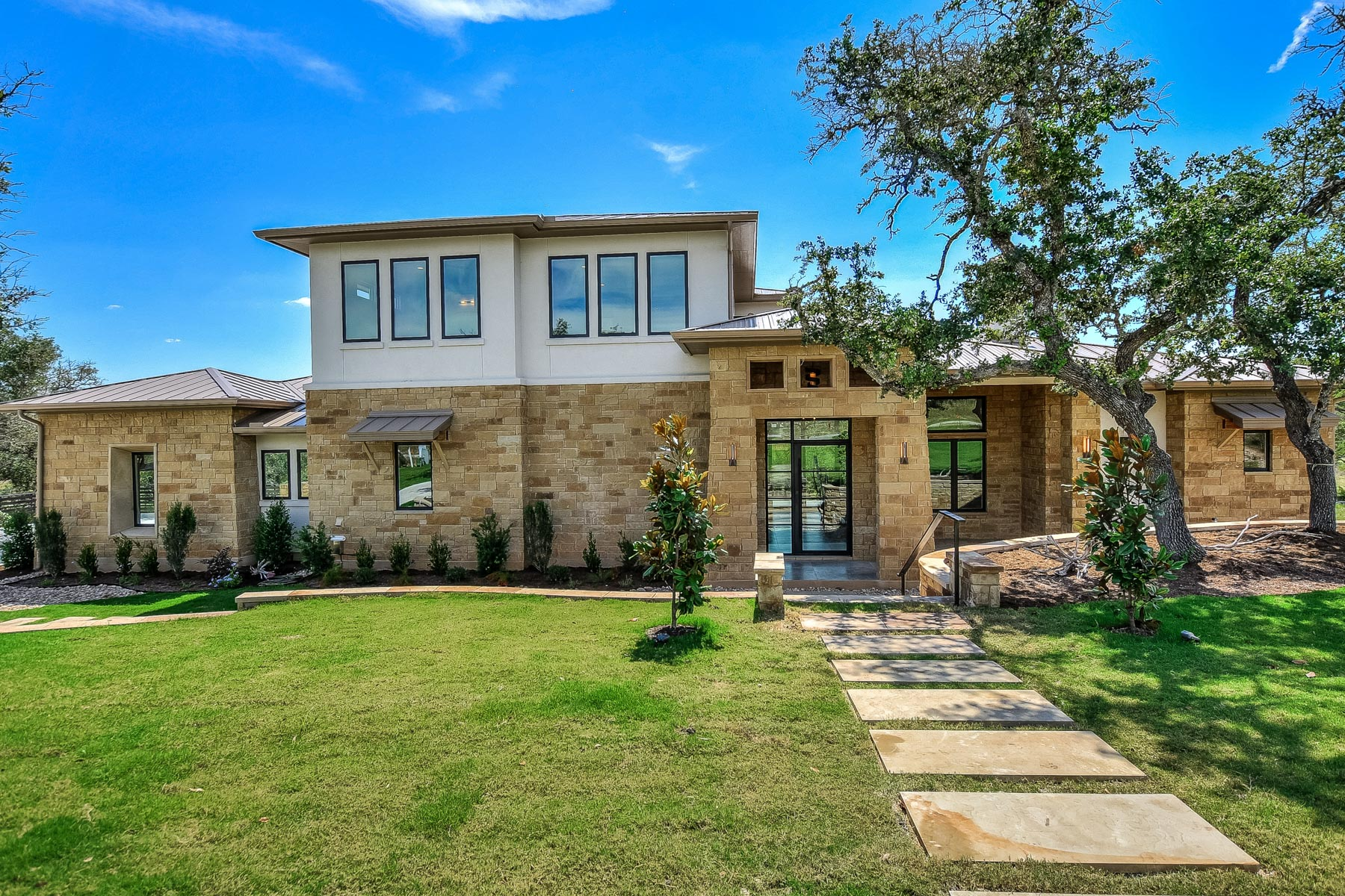 Single Family Home for Sale at New Construction in Belvedere 8600 Rollins Dr, Austin, Texas, 78738 United States