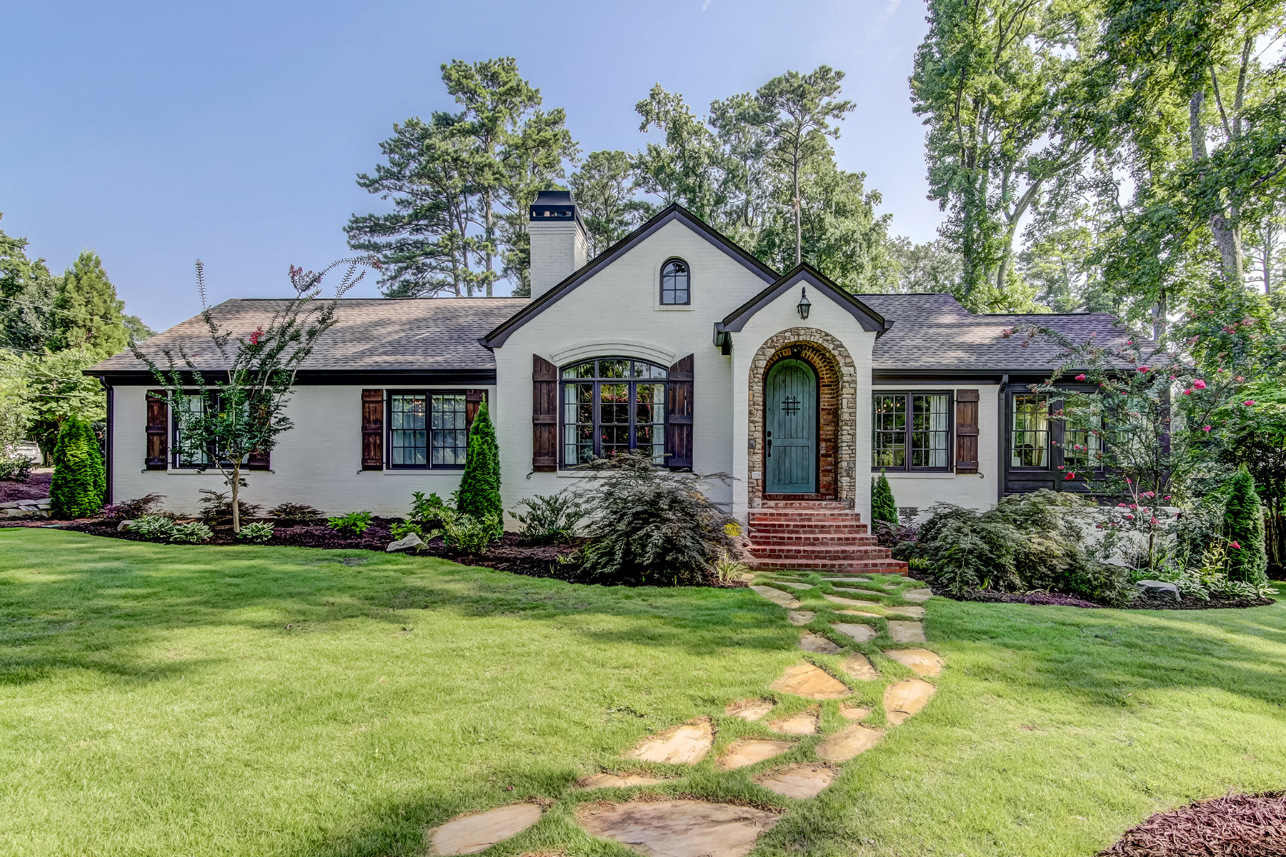 Single Family Home for Sale at European Ranch Home On Large Corner Lot 1445 Collier Drive SE Smyrna, Georgia 30080 United States
